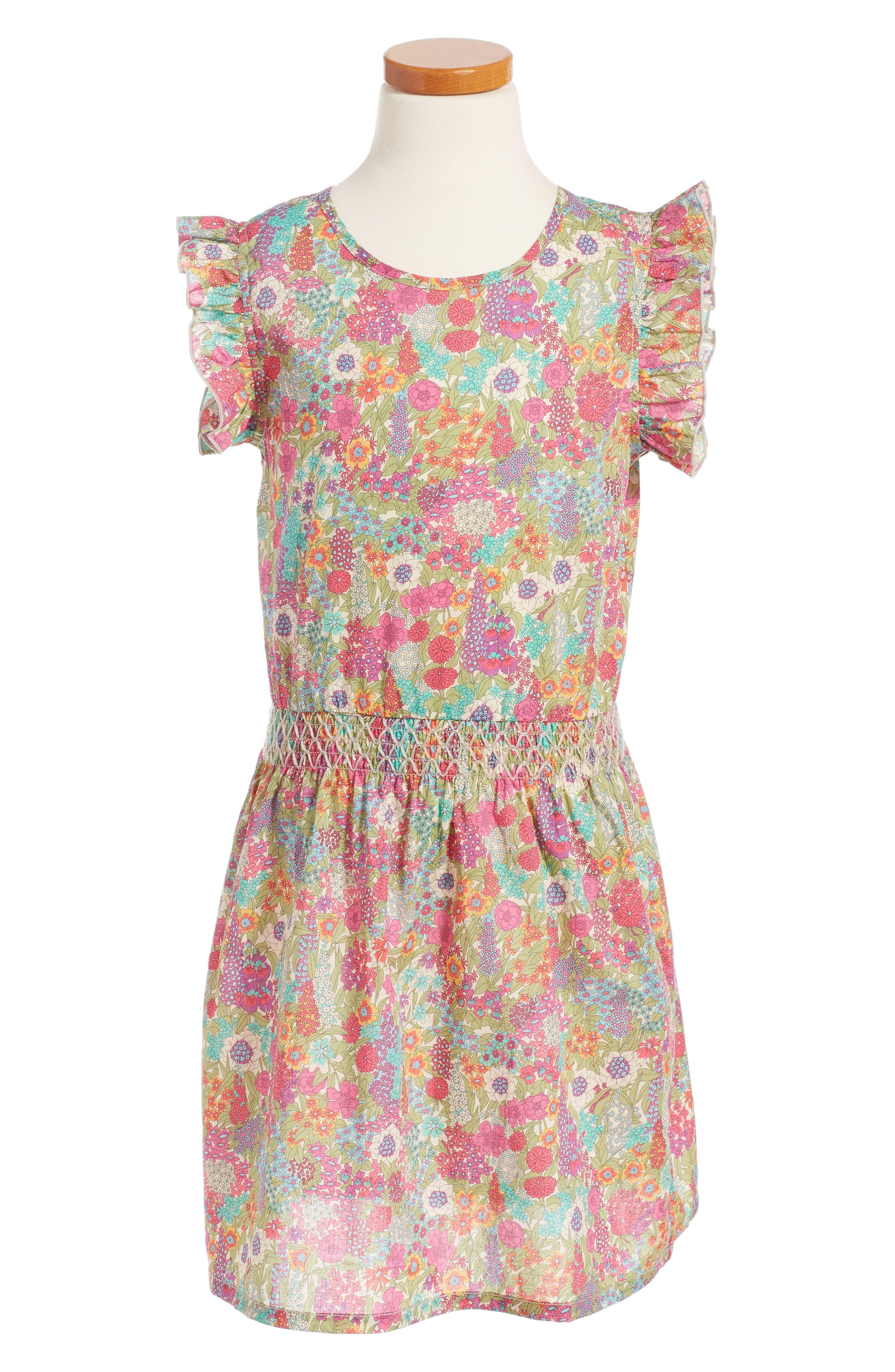 Peek Finley Liberty Print Dress (Toddler Girls, Little Girls & Big Girls)