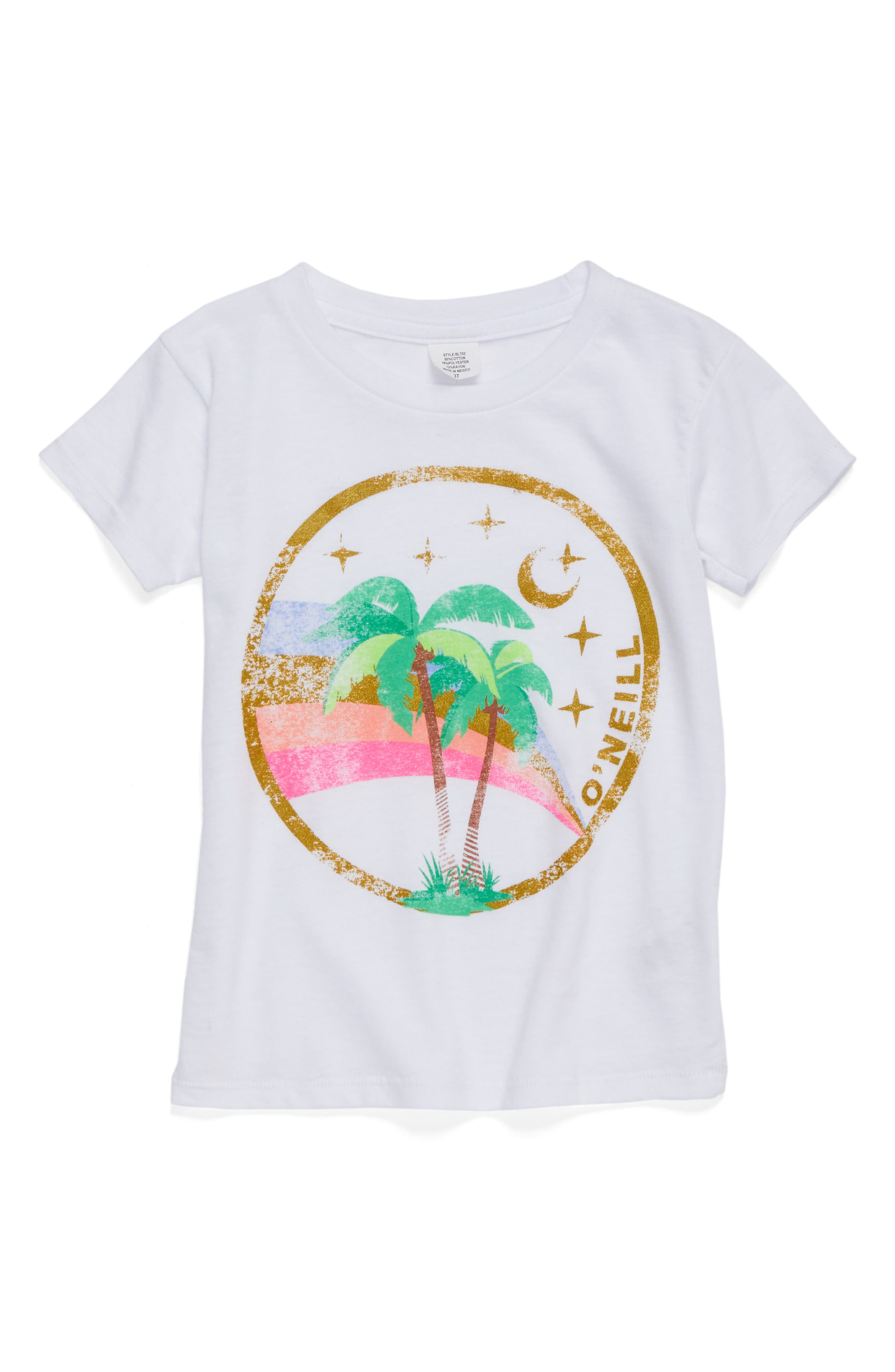 O'Neill Take Off Graphic Tee (Toddler Girls & Little Girls)
