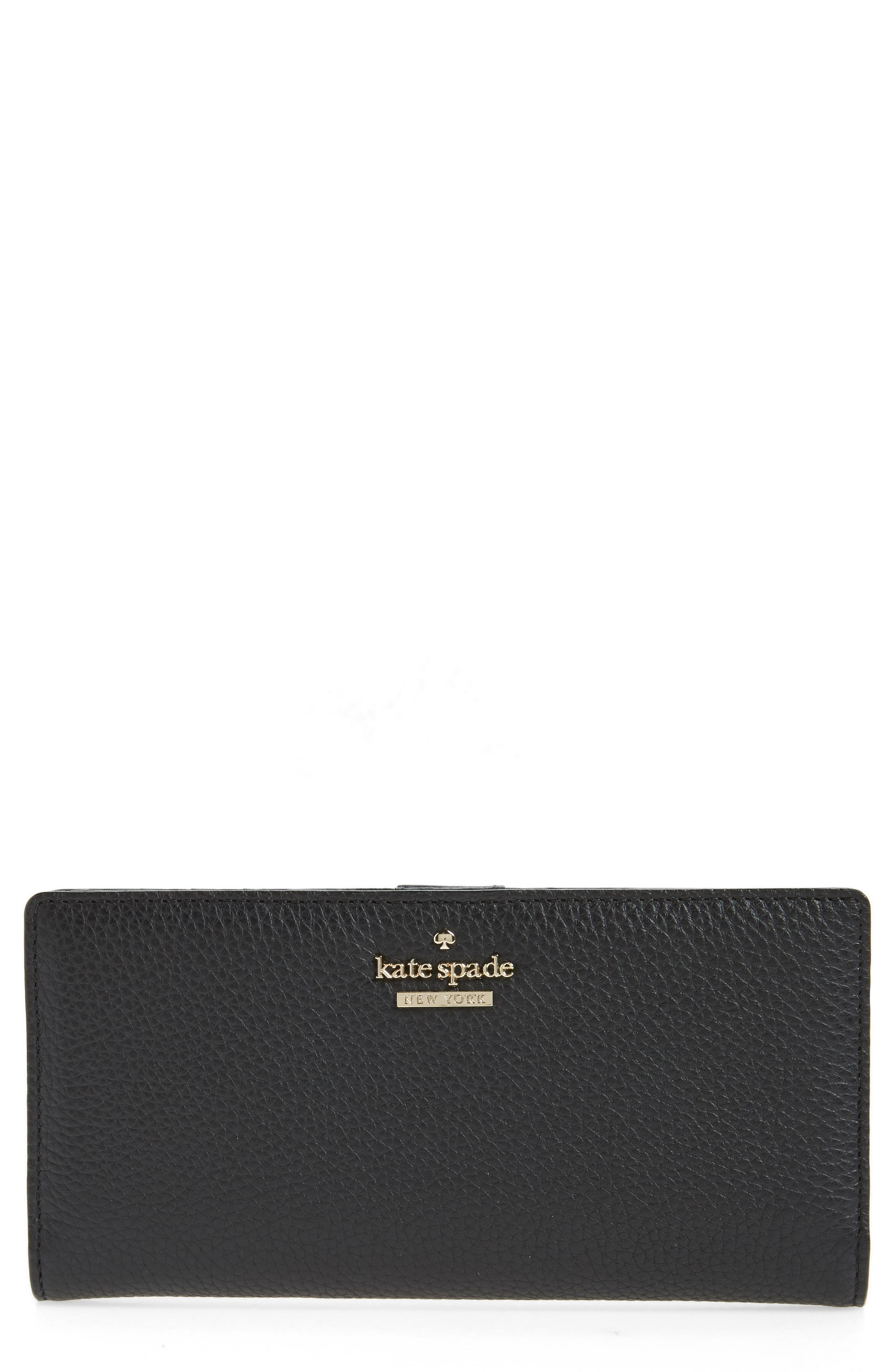 kate spade new york large jackson street - stacy leather wallet