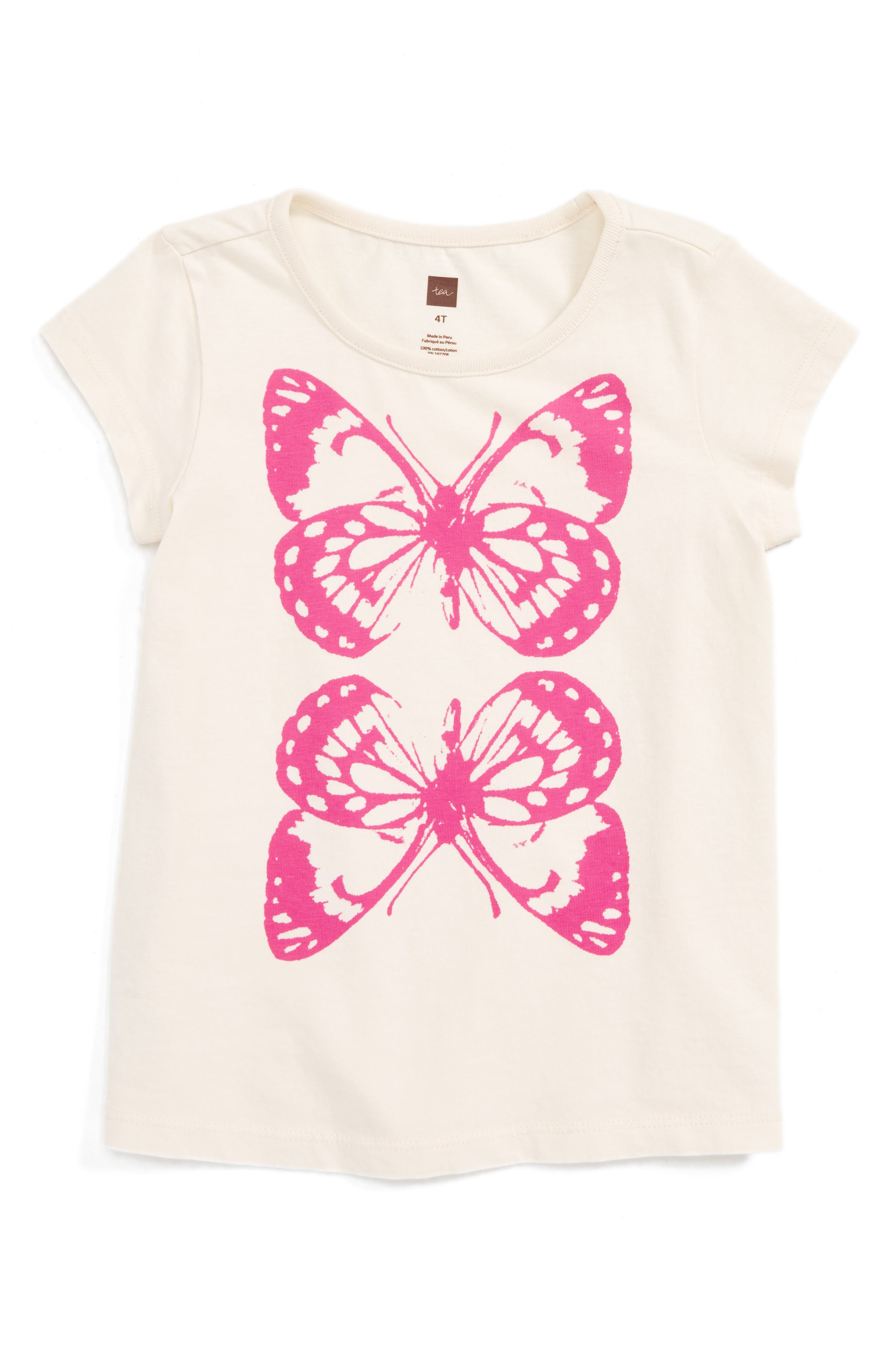Tea Collection Canberra Tee (Toddler Girls)