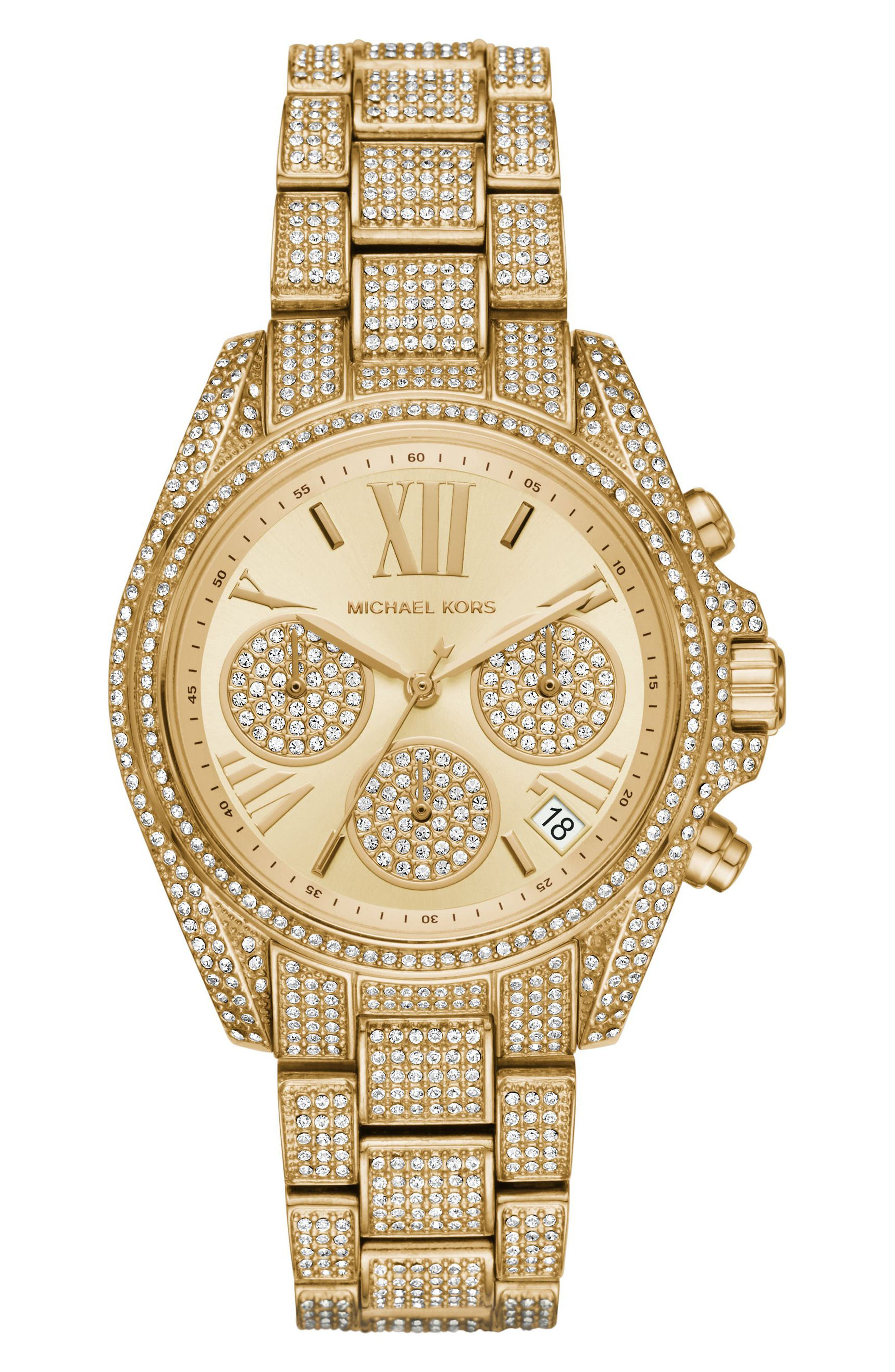 Michael Kors Mini Bradshaw Bracelet Watch, 33mm