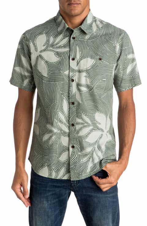 Quiksilver Sunburst Print Shirt