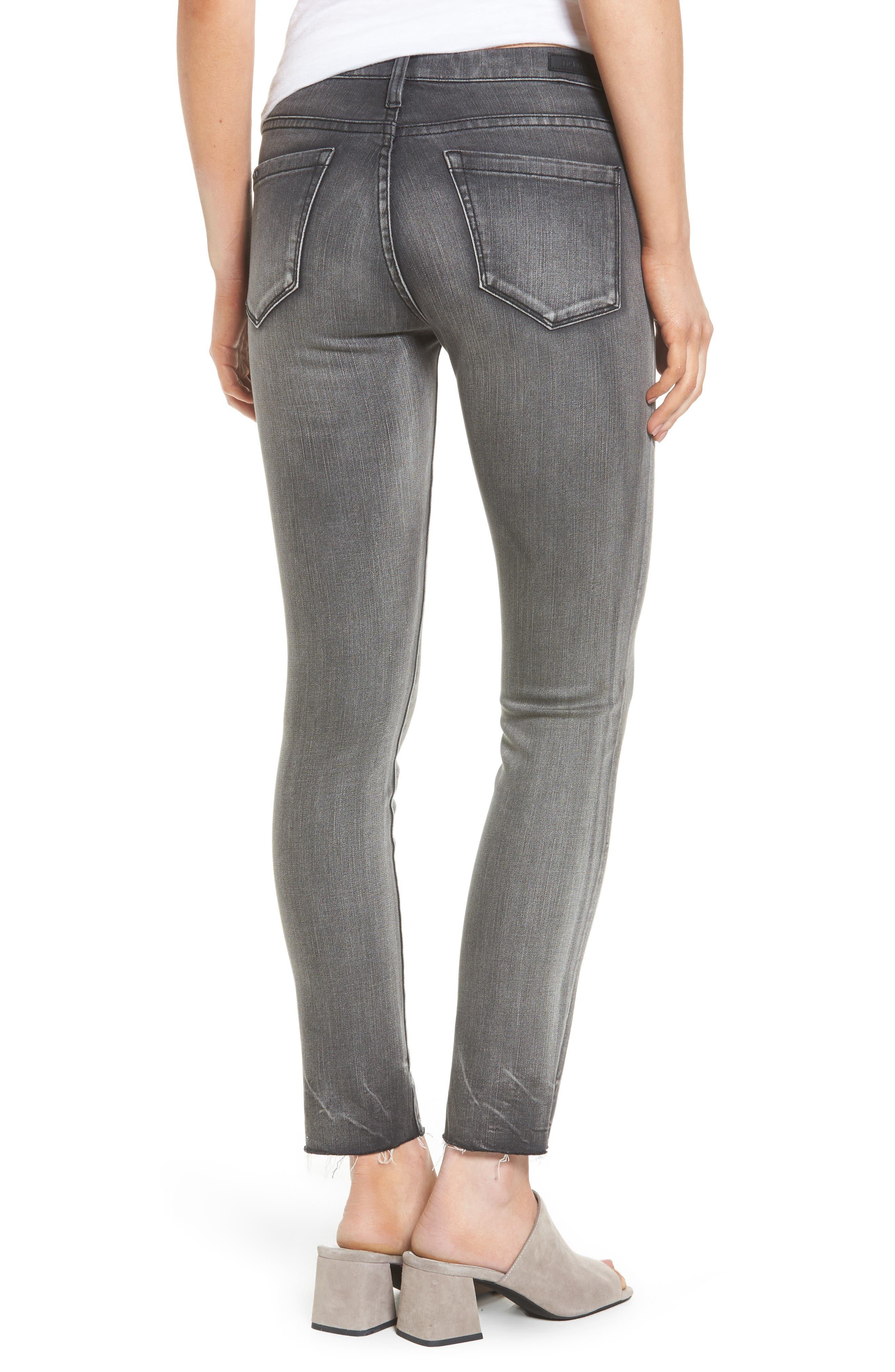 Alternate Image 2  - BLANKNYC Skinny Jeans (Black Metal Dahlia)