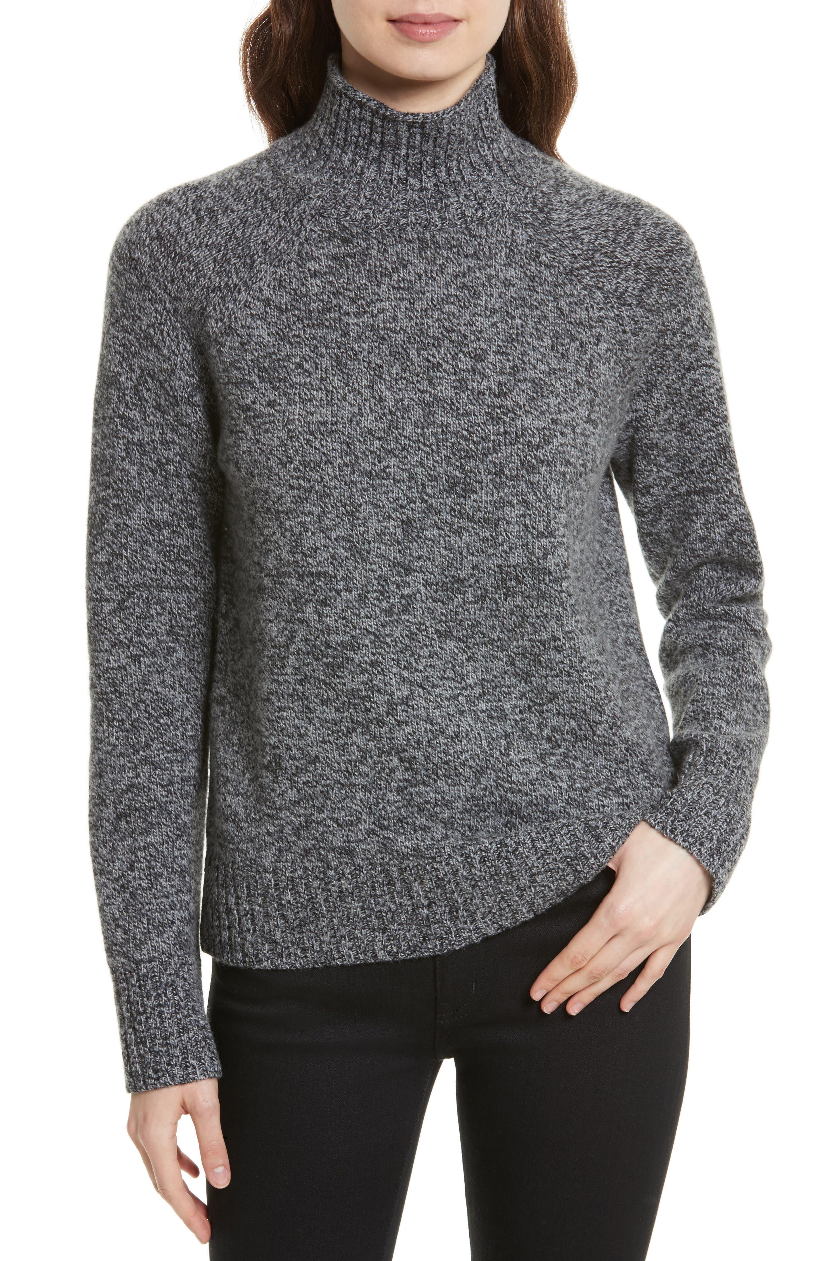 Equipment Inez Mock Neck Sweater