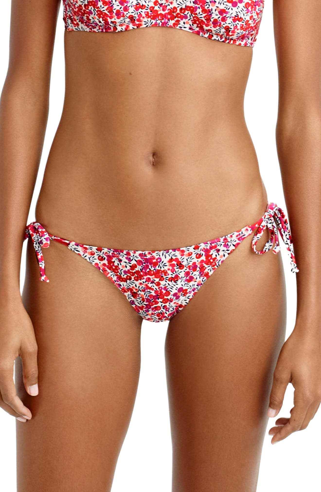 J.Crew Liberty Side Tie Bikini Bottoms
