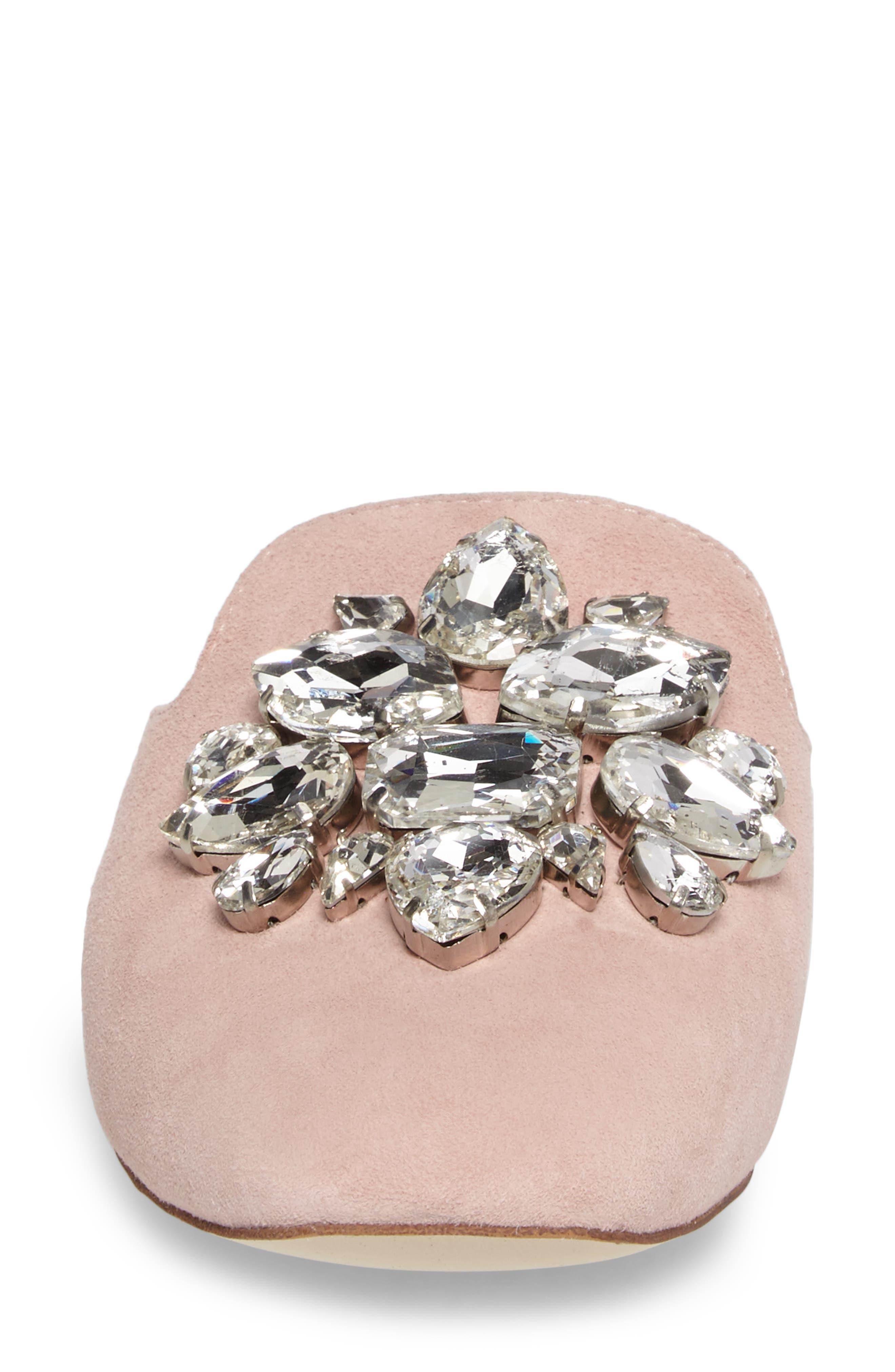 Alternate Image 4  - Jeffrey Campbell Ravis Crystal Embellished Mule (Women)
