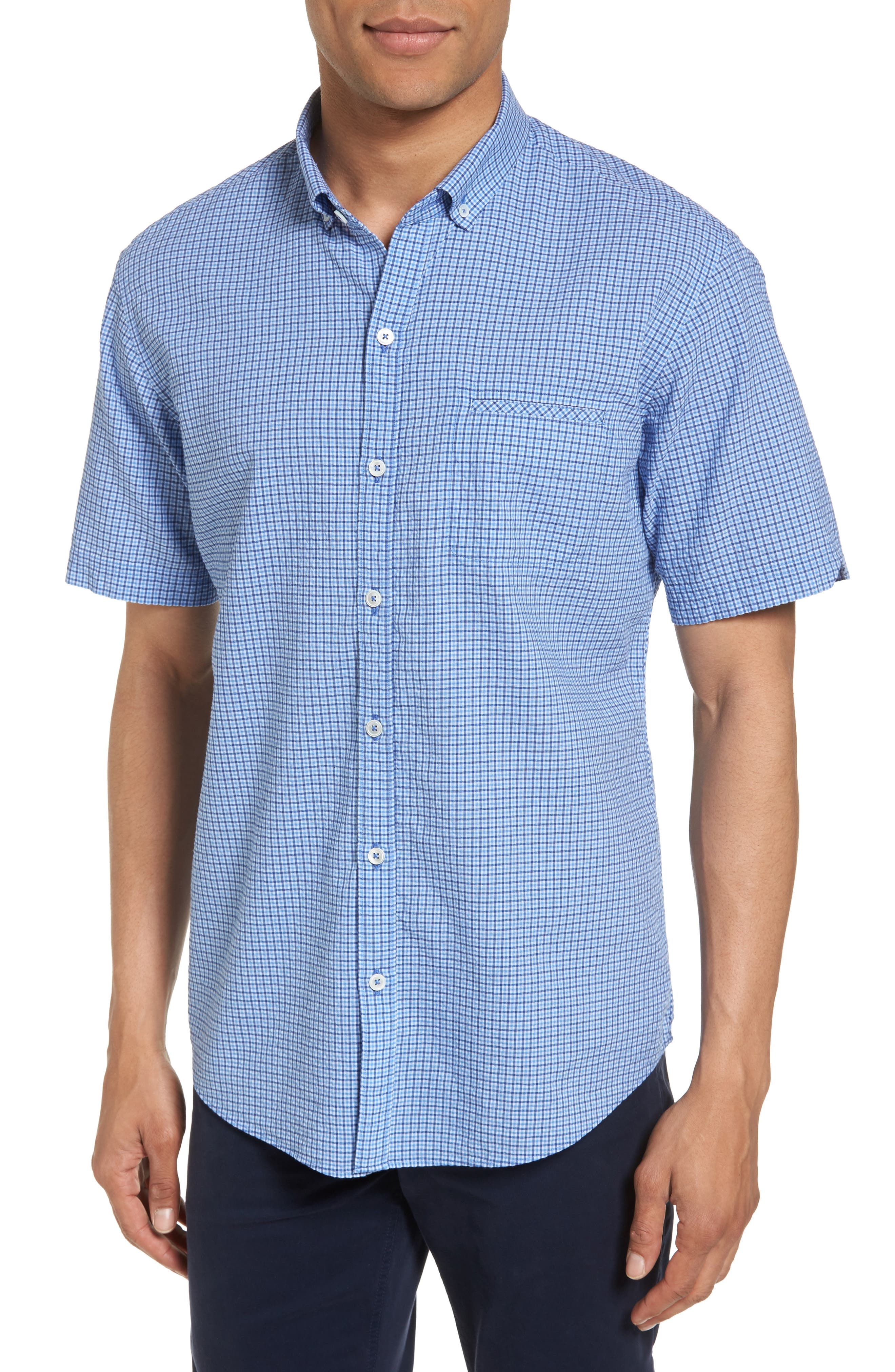 Zachary Prell Short Sleeve Sport Shirt