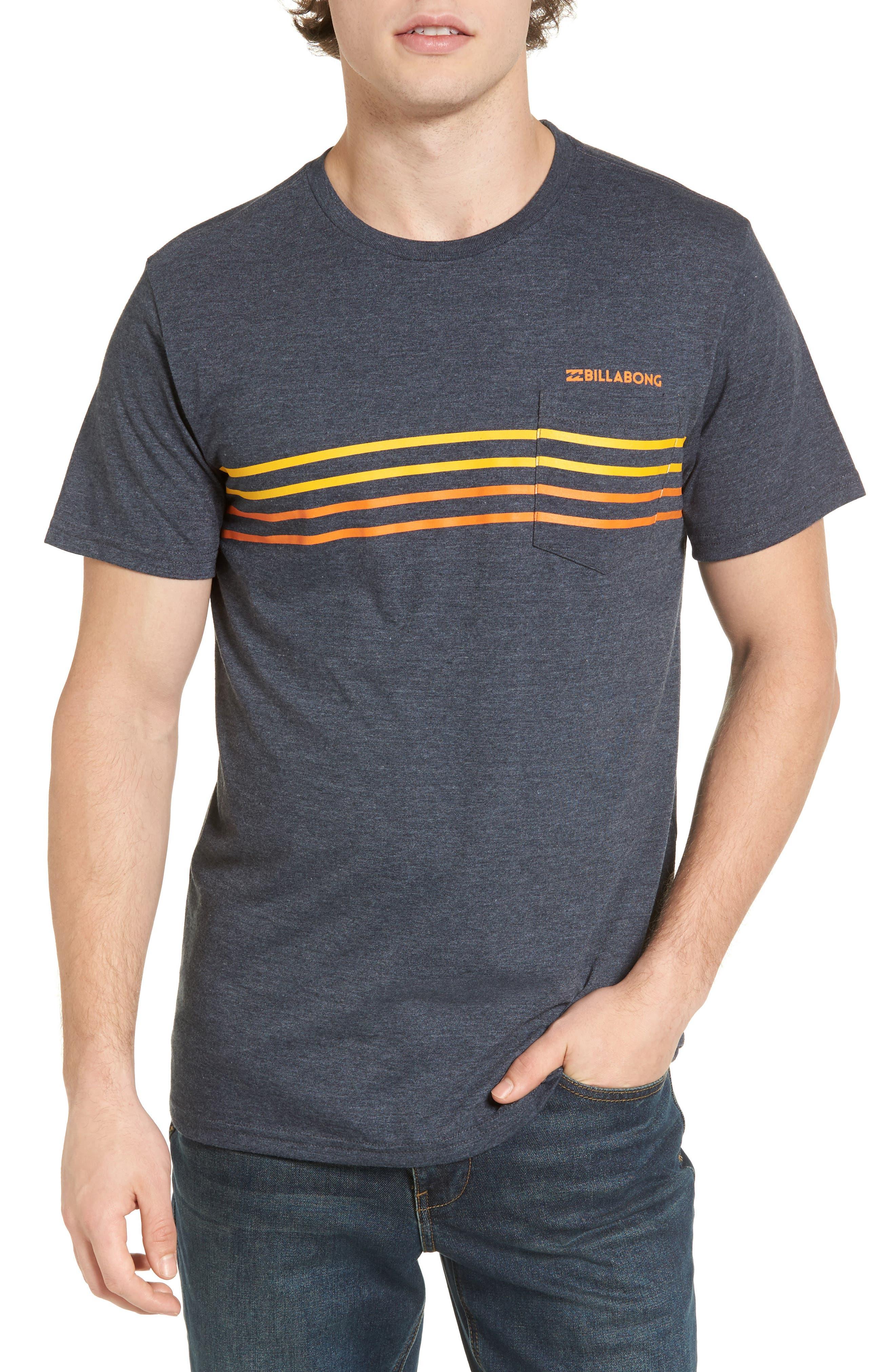 Billagong Spinner Graphic Pocket T-Shirt