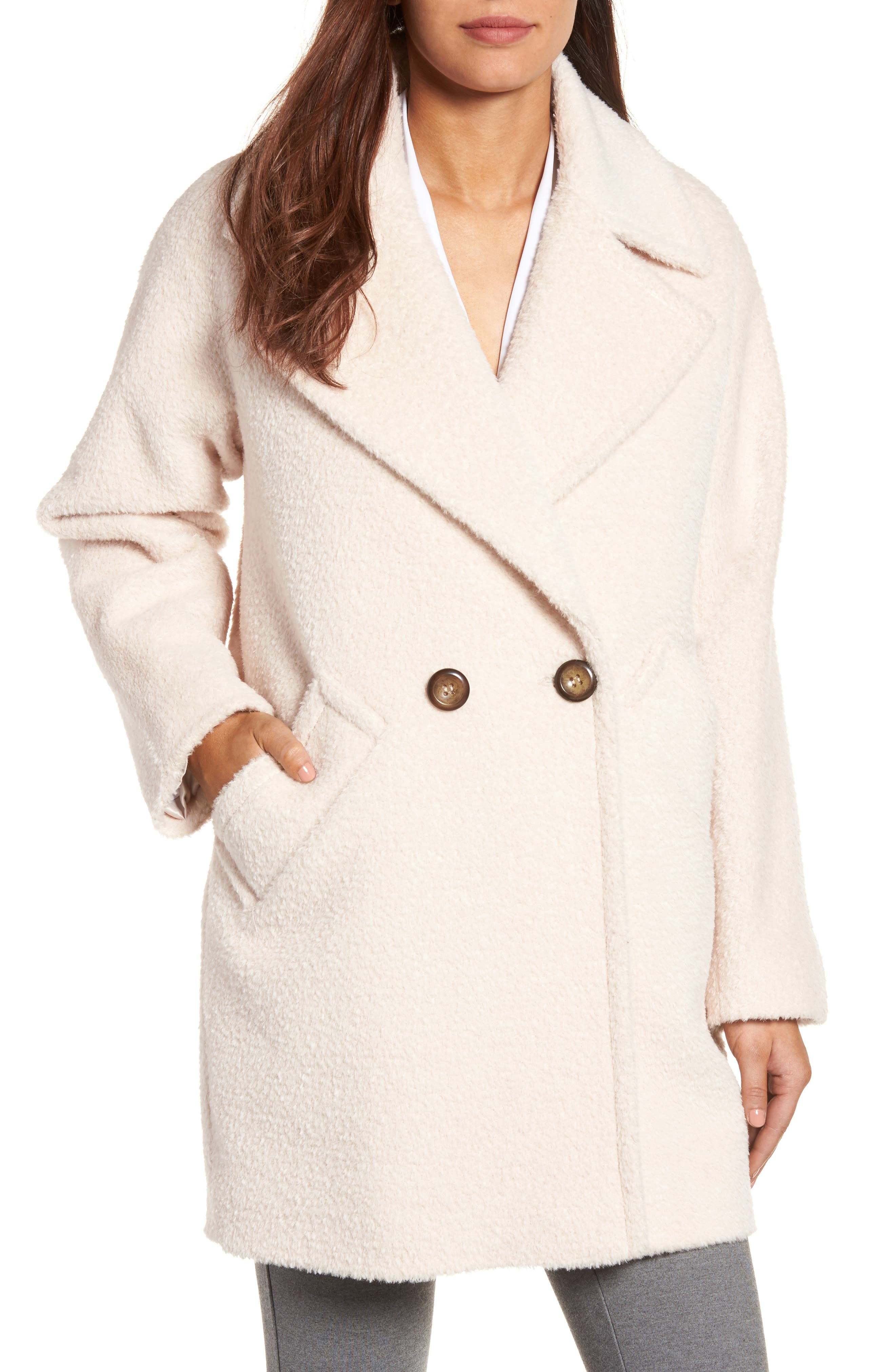 Trina Turk Nancy Double Breasted Coat