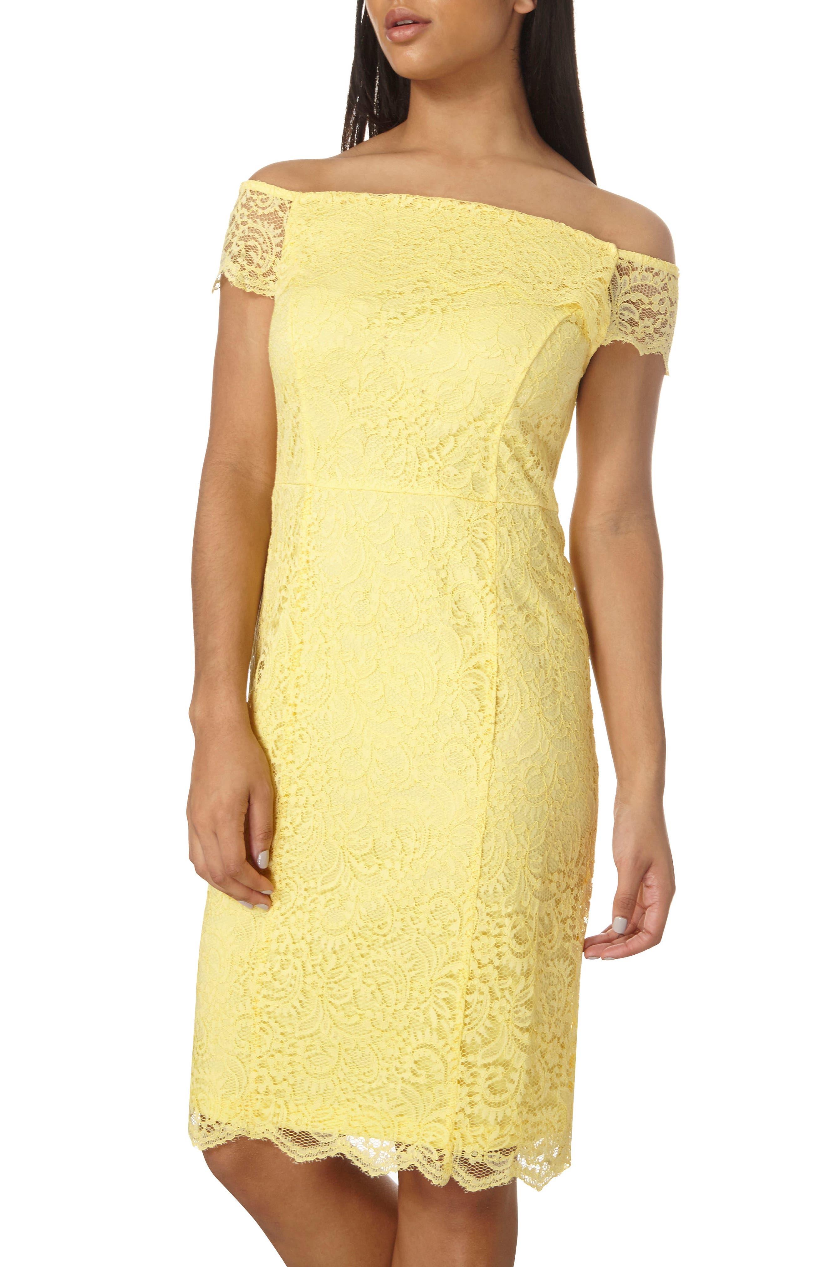 Dorothy Perkins Bardot Pencil Dress