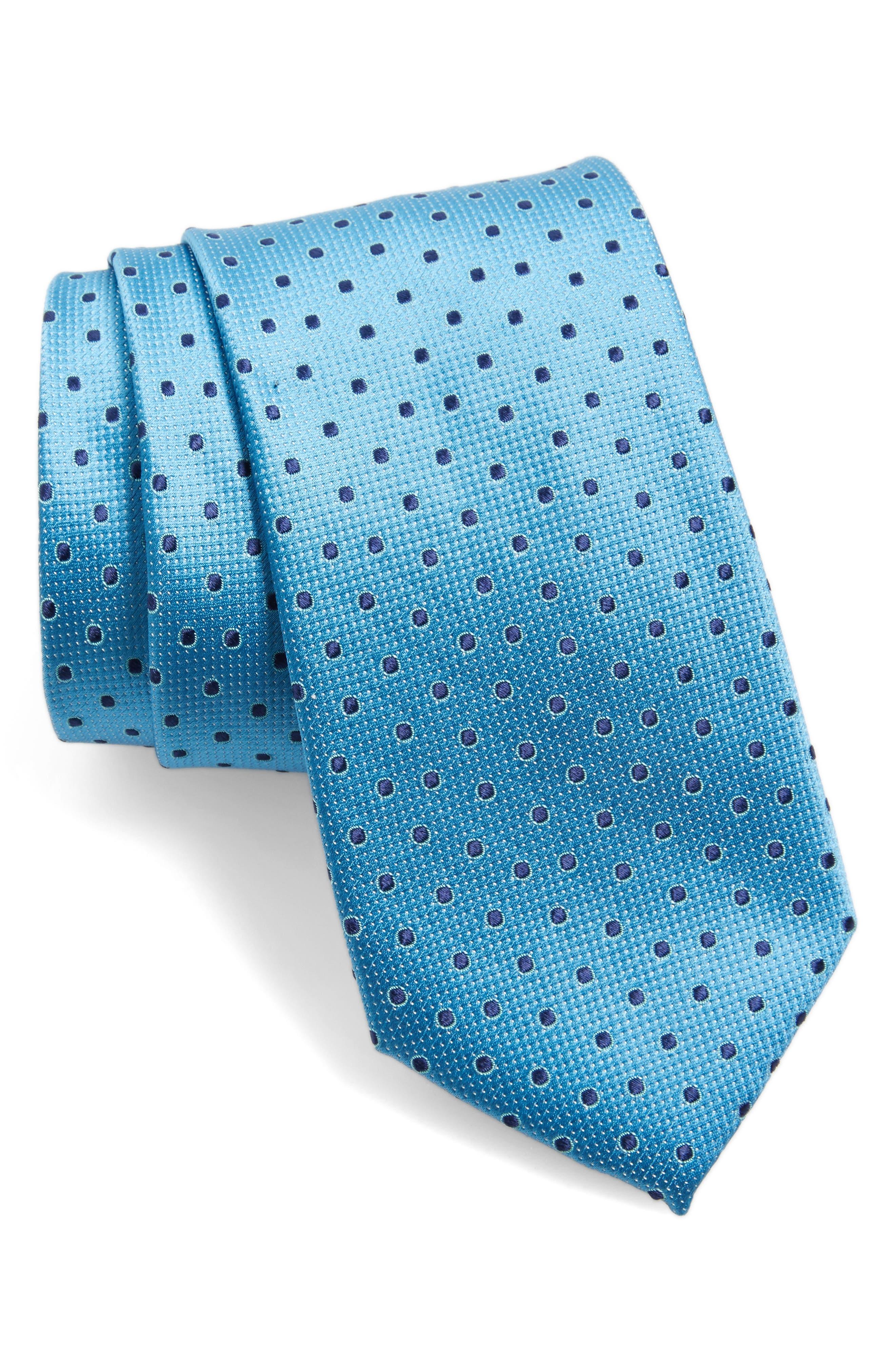 Nordstrom Double Dot Silk Tie