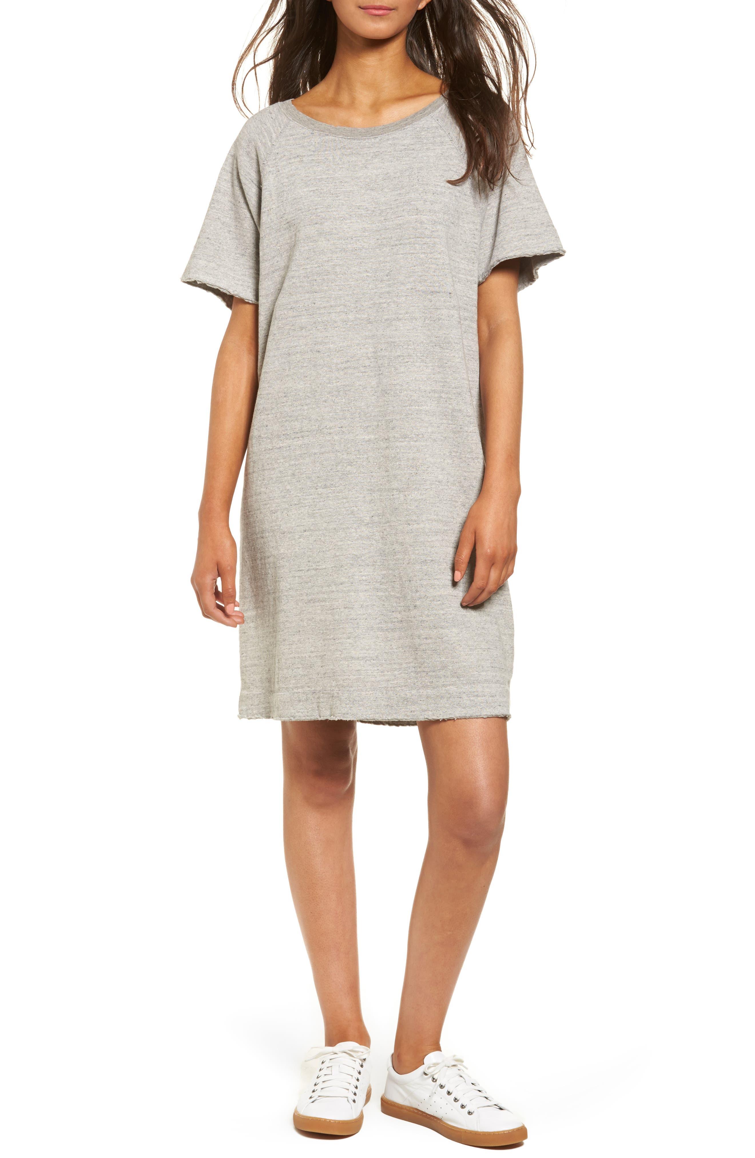James Perse Fleece Shift Dress