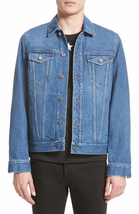 Givenchy Logo Jean Jacket
