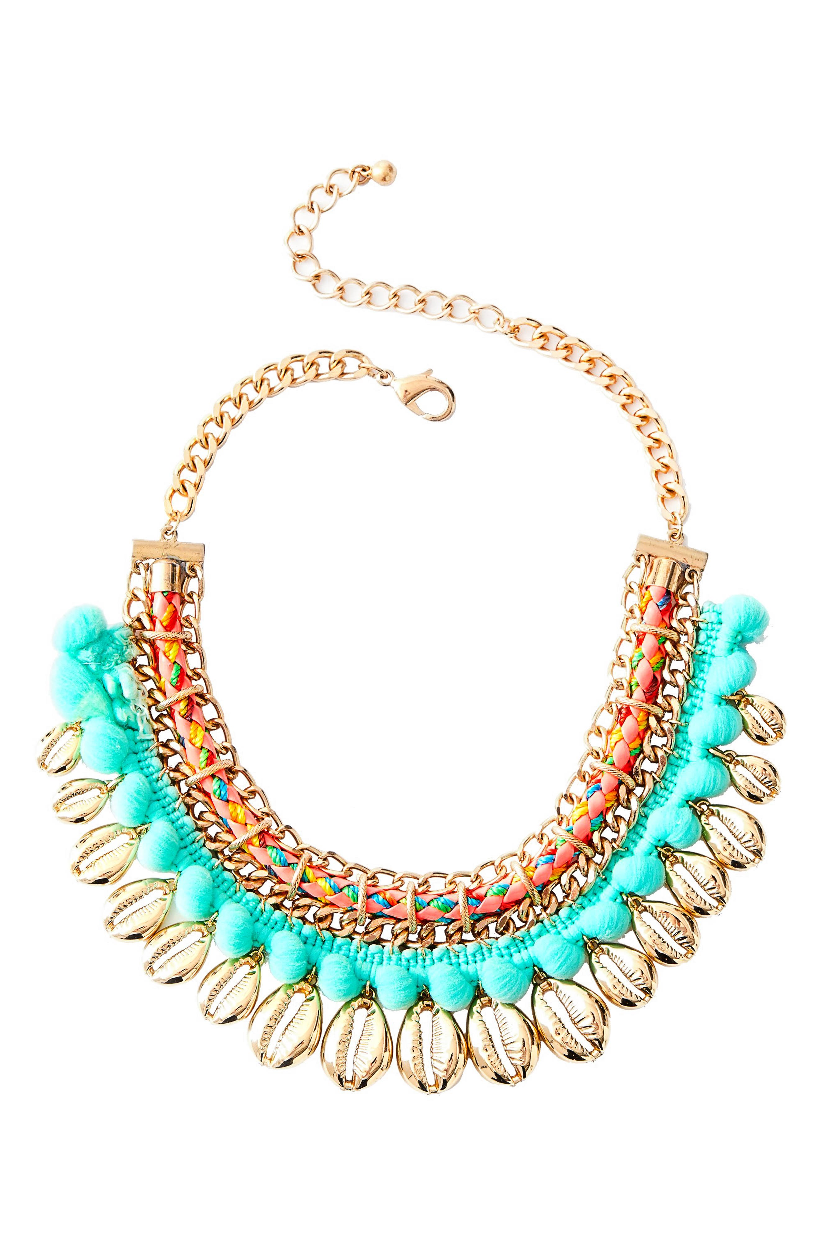 Lilly Pulitzer® Sparkling Sands Frontal Necklace