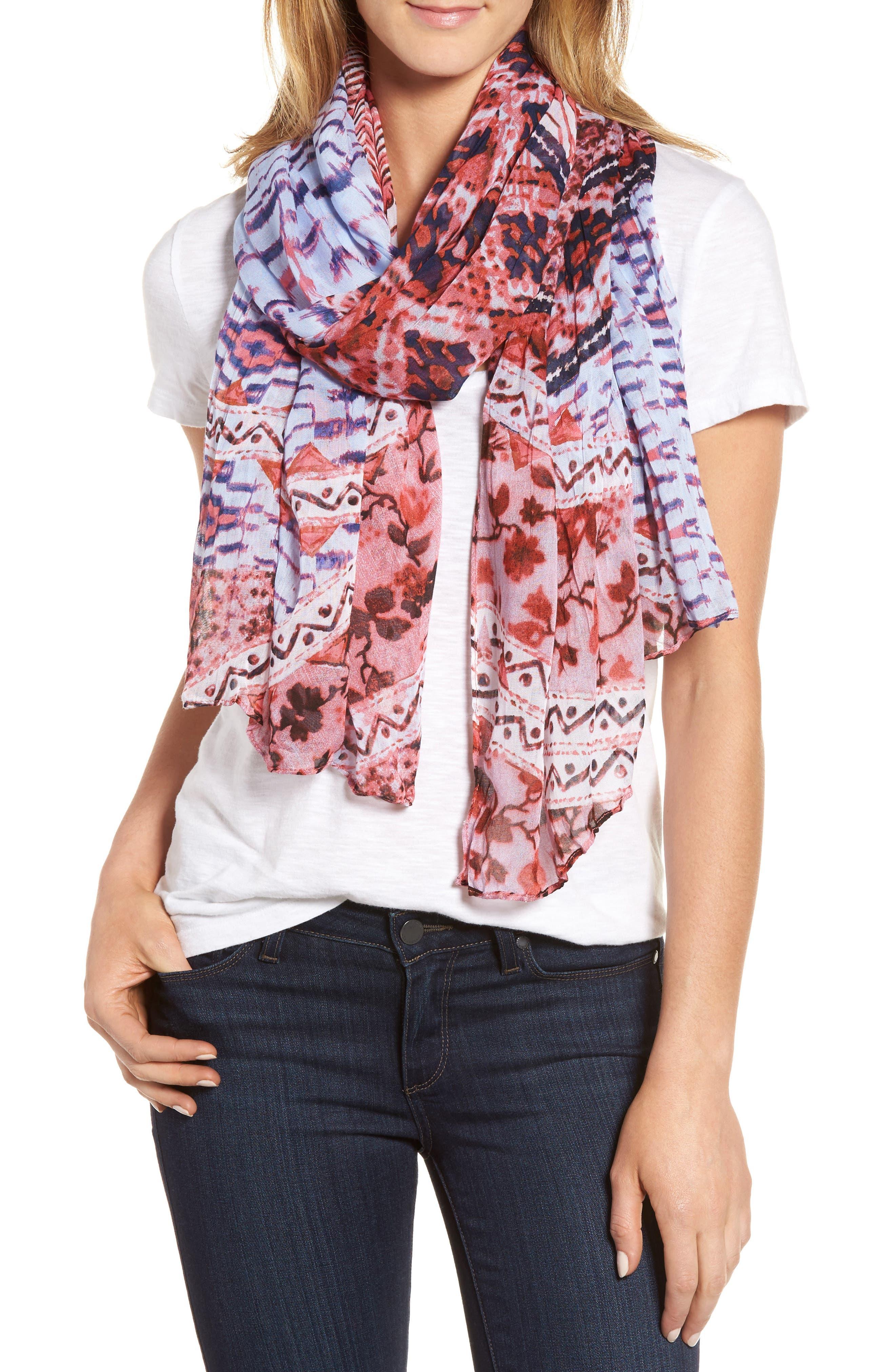 Caslon® Twilight Tapestry Wrap