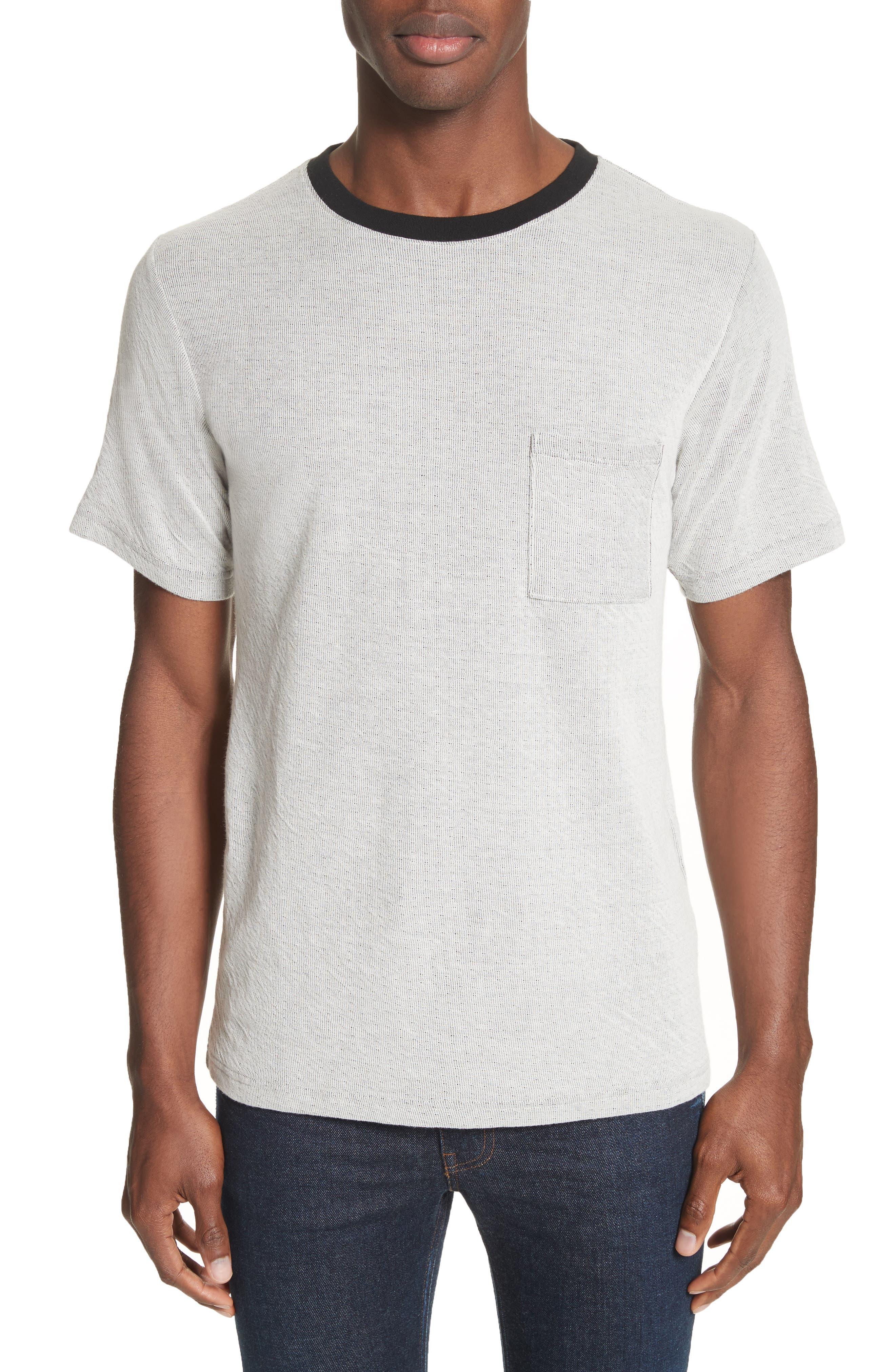 Saturdays NYC Randall Field Stripe T-Shirt