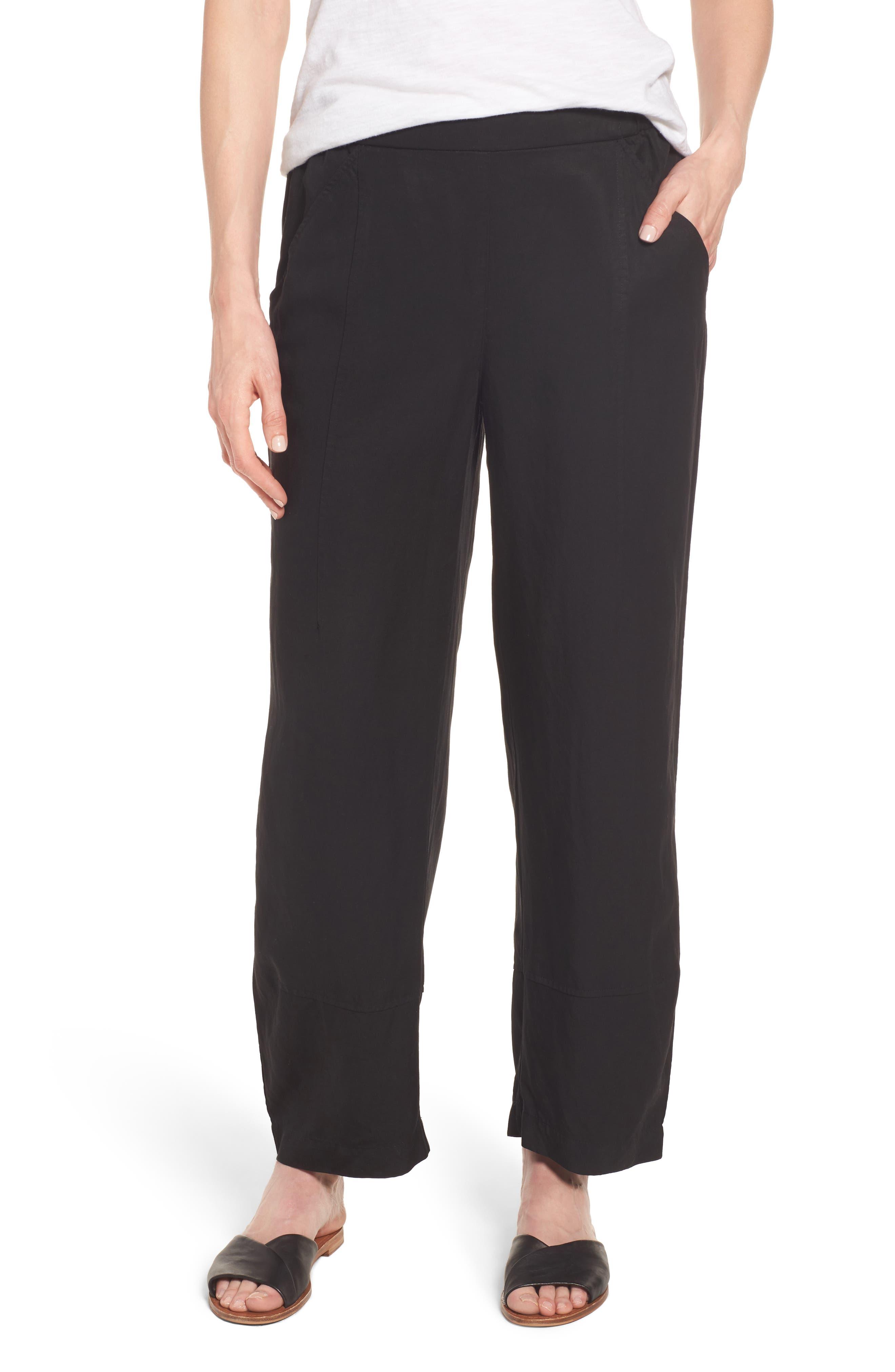 Eileen Fisher Lantern Ankle Pants (Regular & Petite)