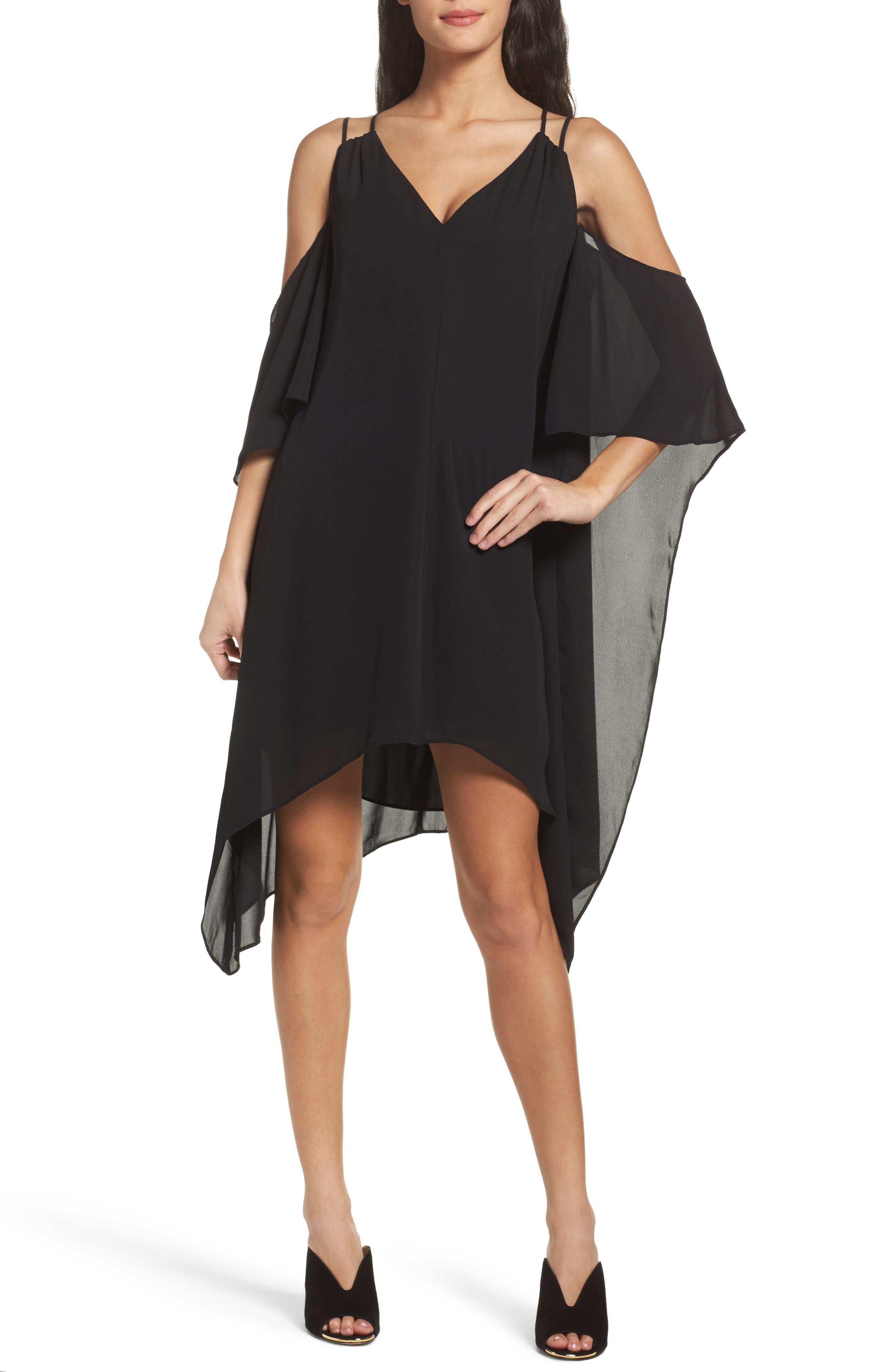 Adelyn Rae Fiona Cold Shoulder Shift Dress