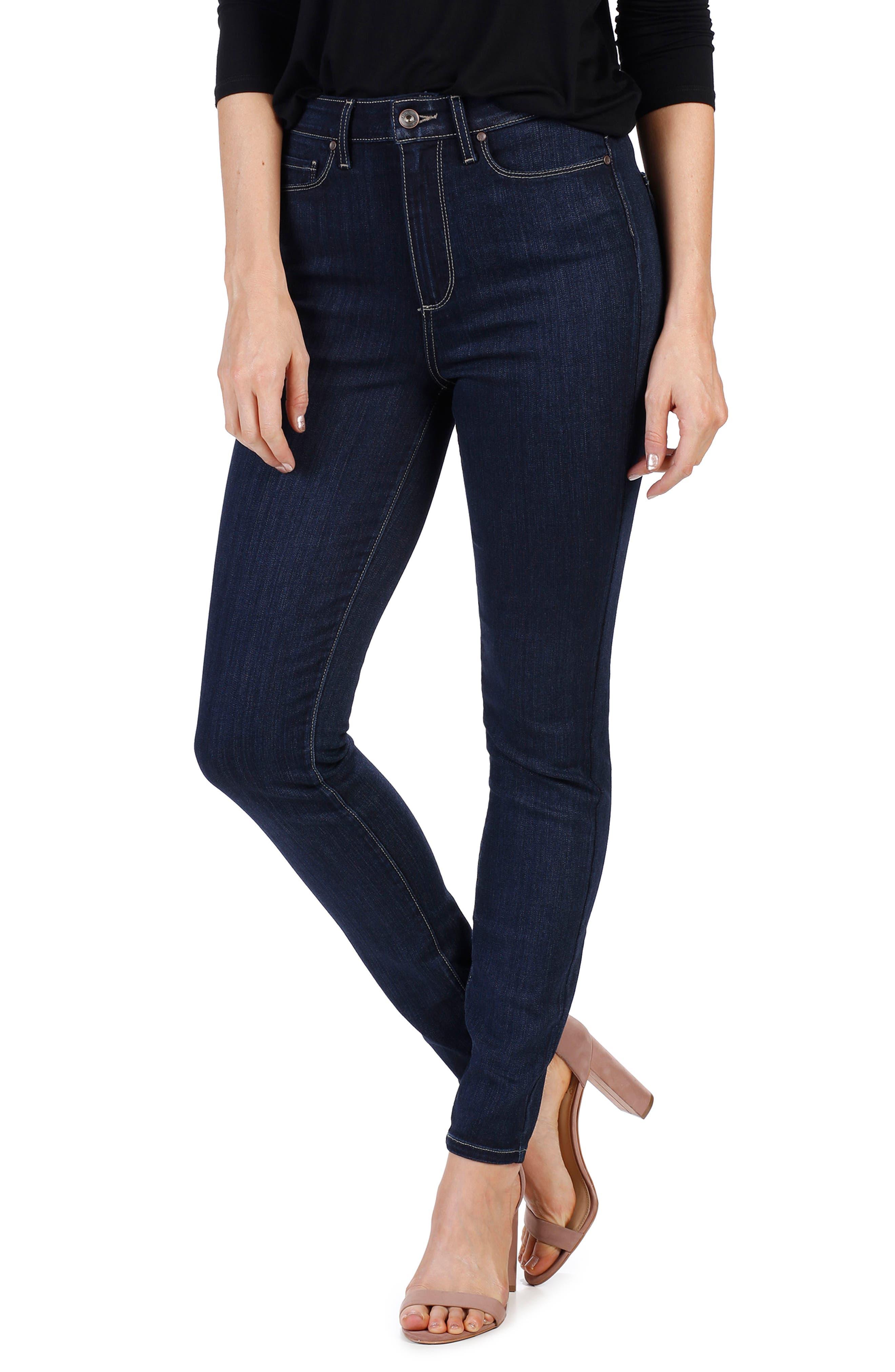PAIGE Transcend - Margot High Waist Ultra Skinny Jeans (Becklyn)