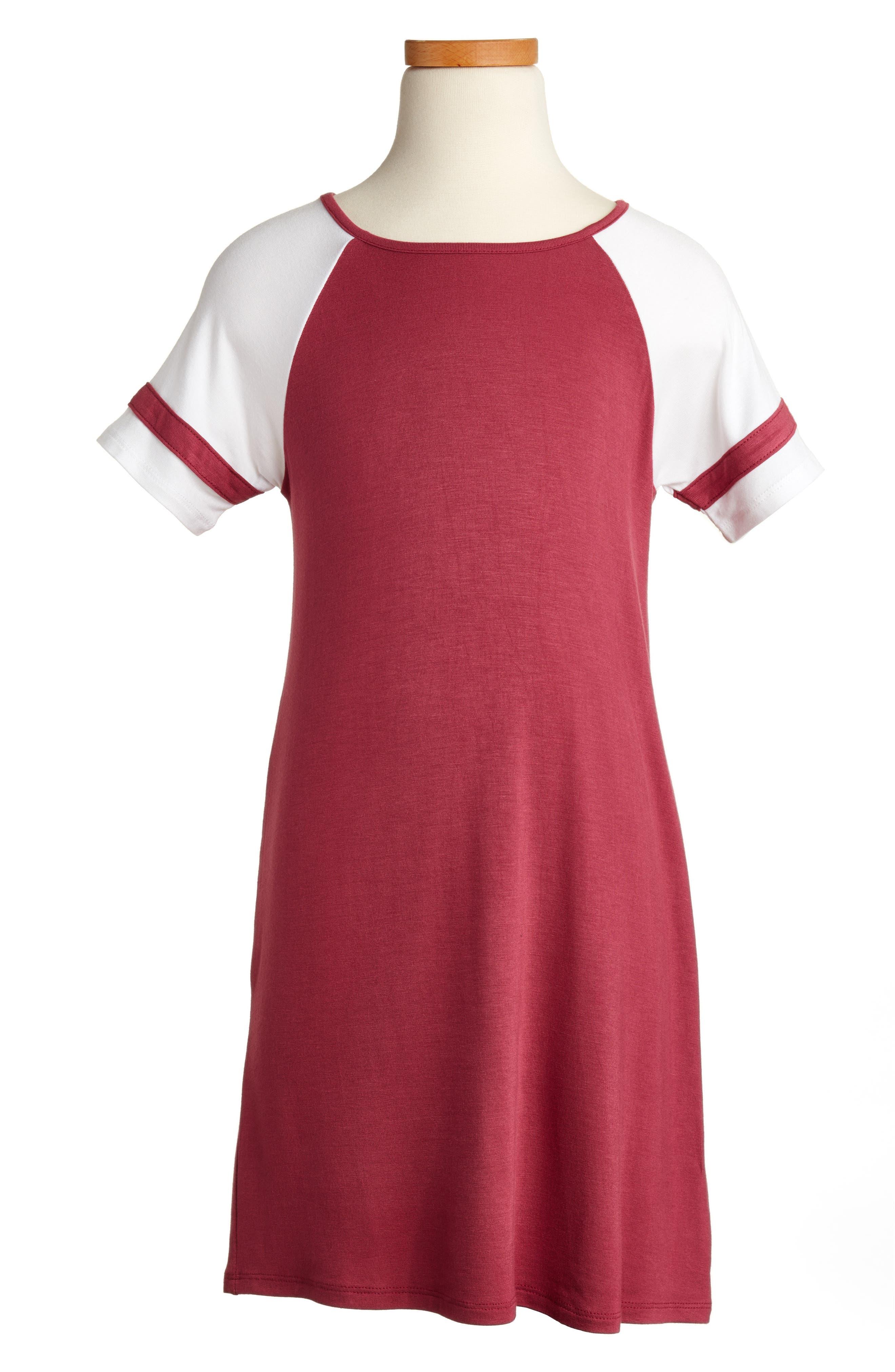 Love, Fire Baseball Dress (Big Girls)