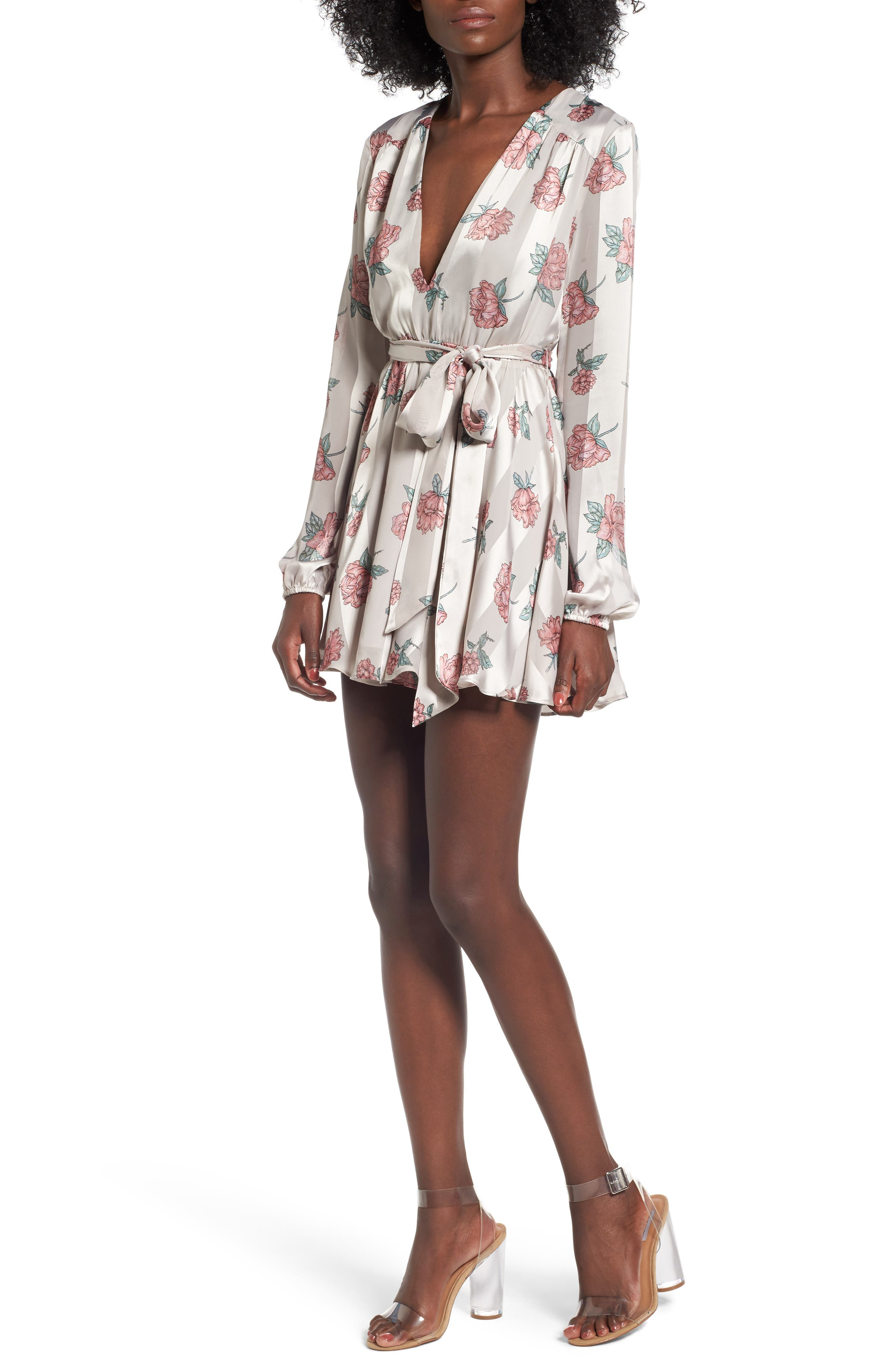 Lover & Friends Ivy Fit & Flare Dress