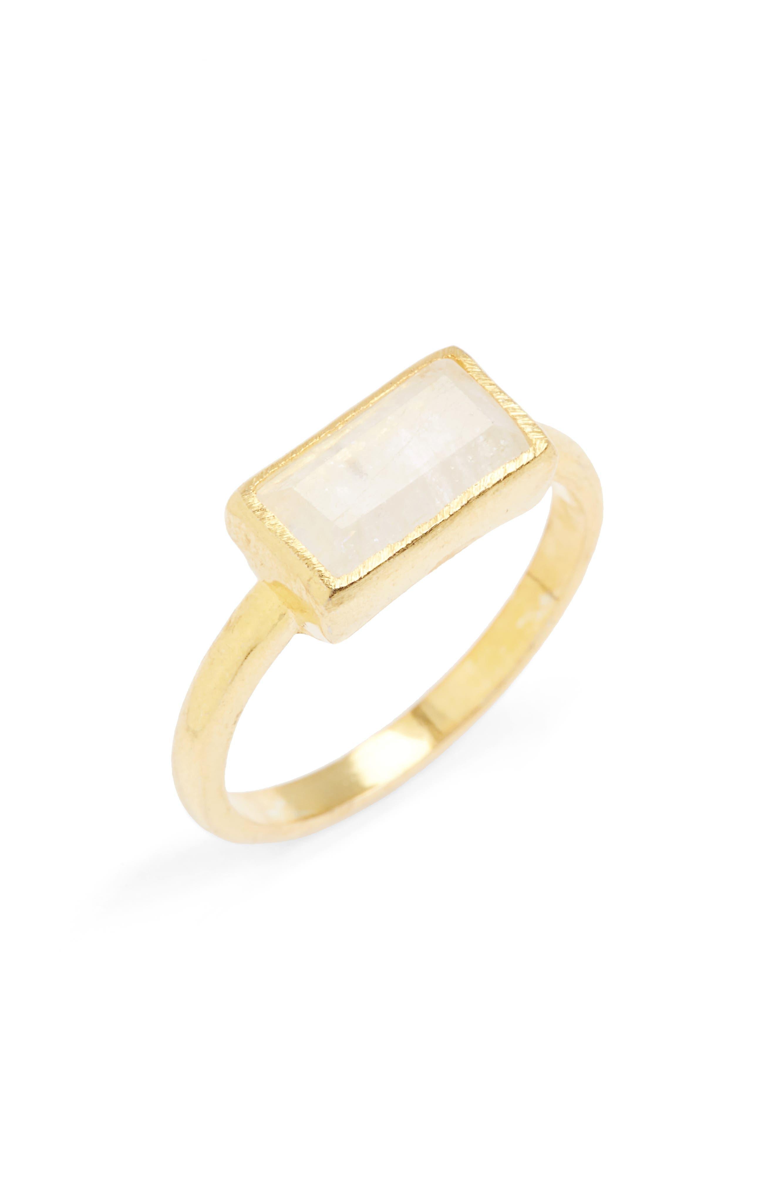 Karen London River Quartz Ring