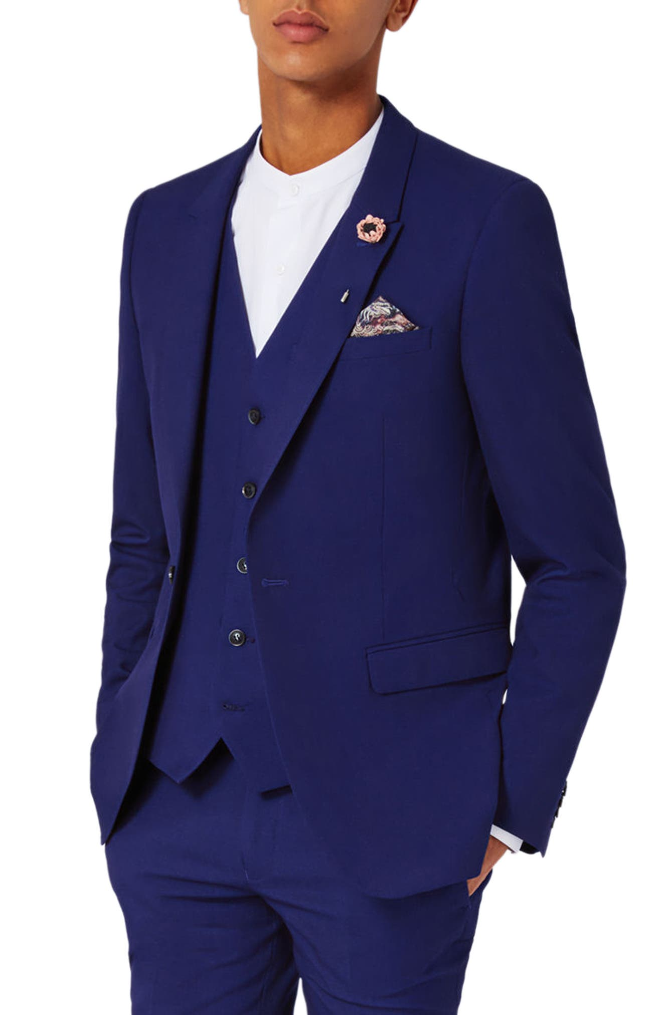 Topman Infinity Ultra Skinny Fit Suit Jacket