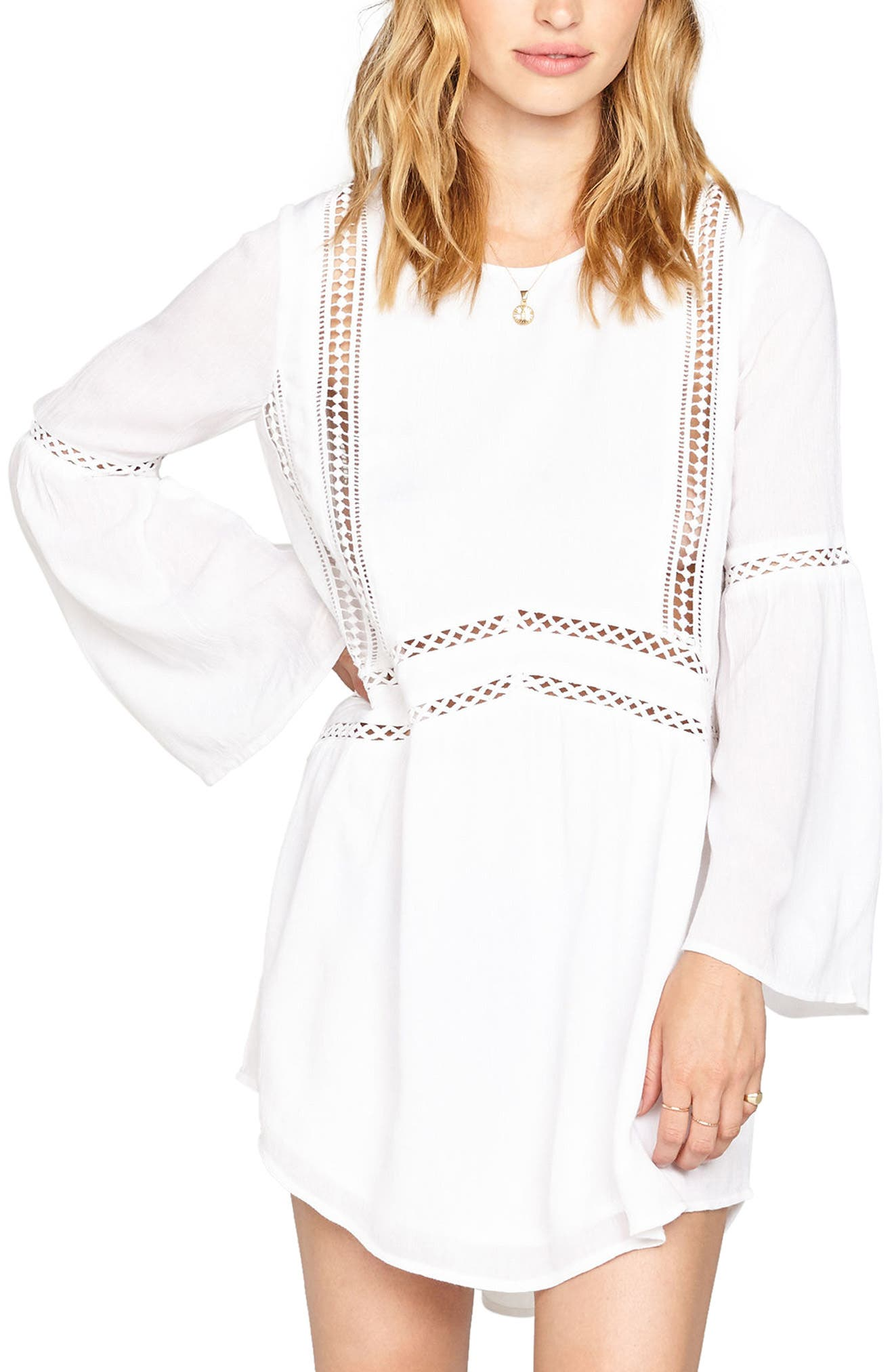 Amuse Society Kensington Crochet Trim Dress