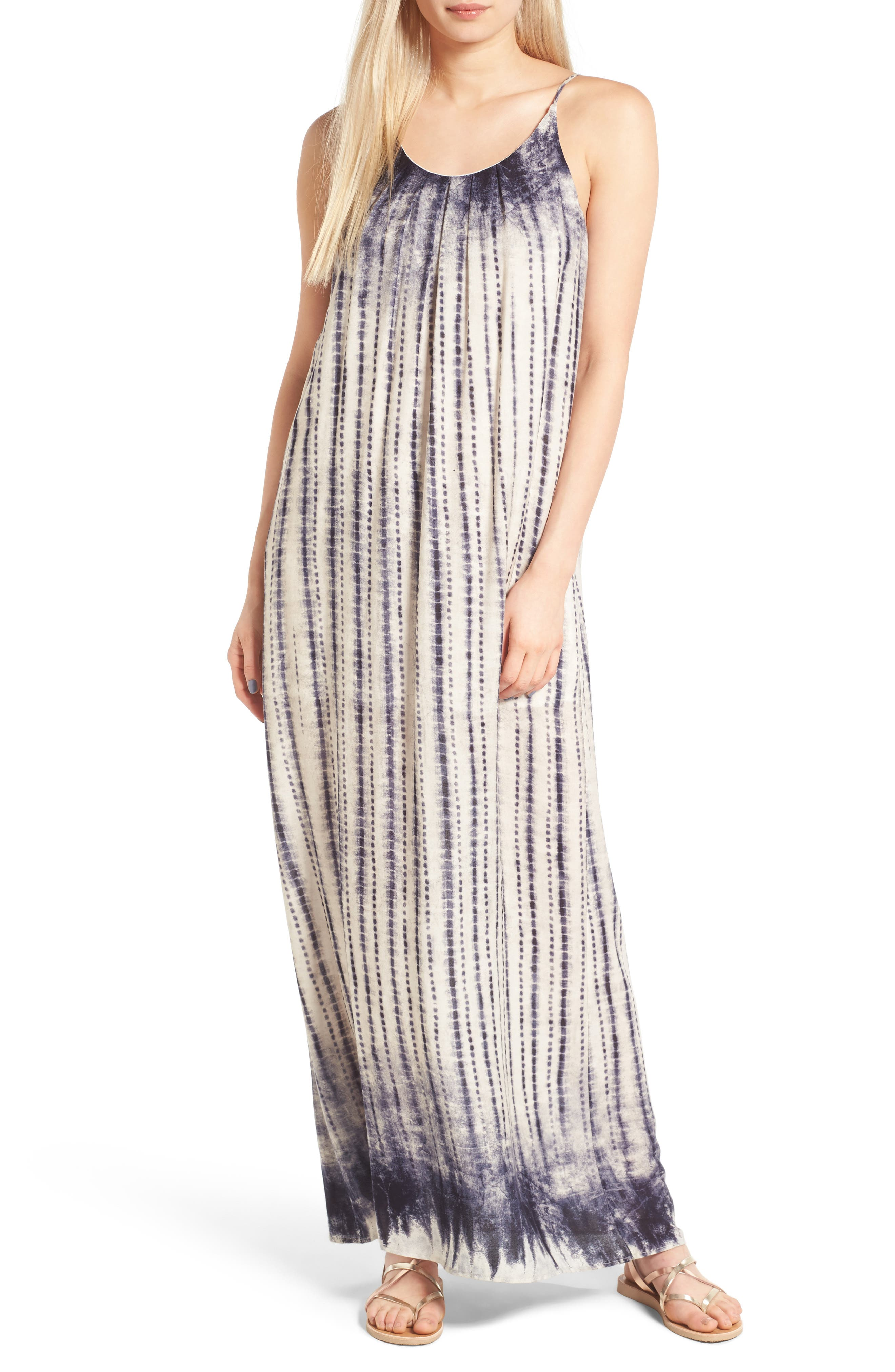 One Clothing Print Maxi Dress