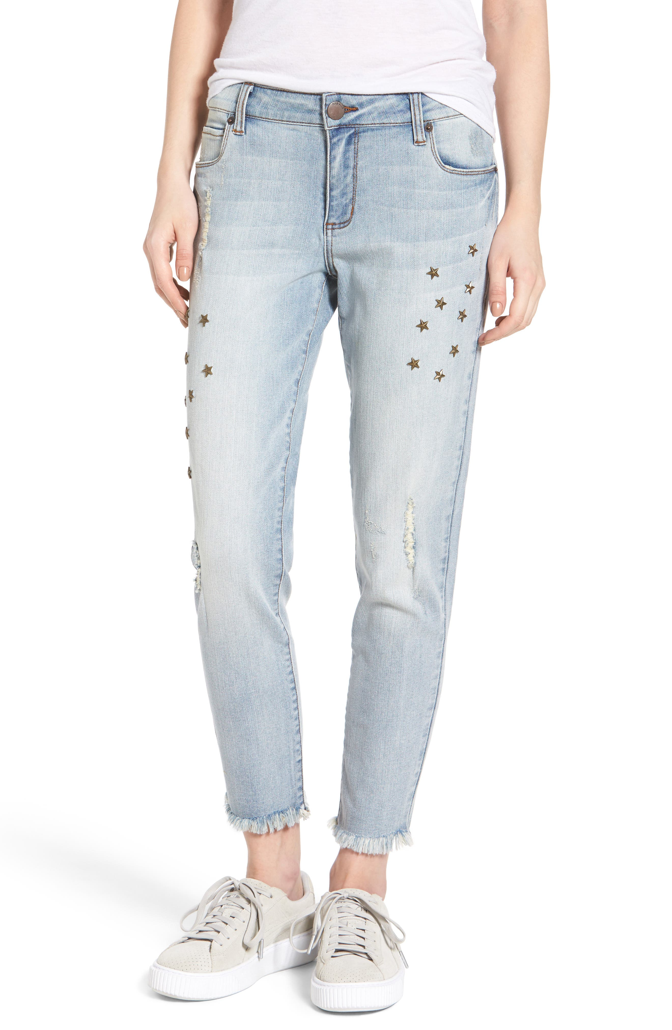 STS Blue Taylor Star Studded Ankle Jeans (Eden Field)