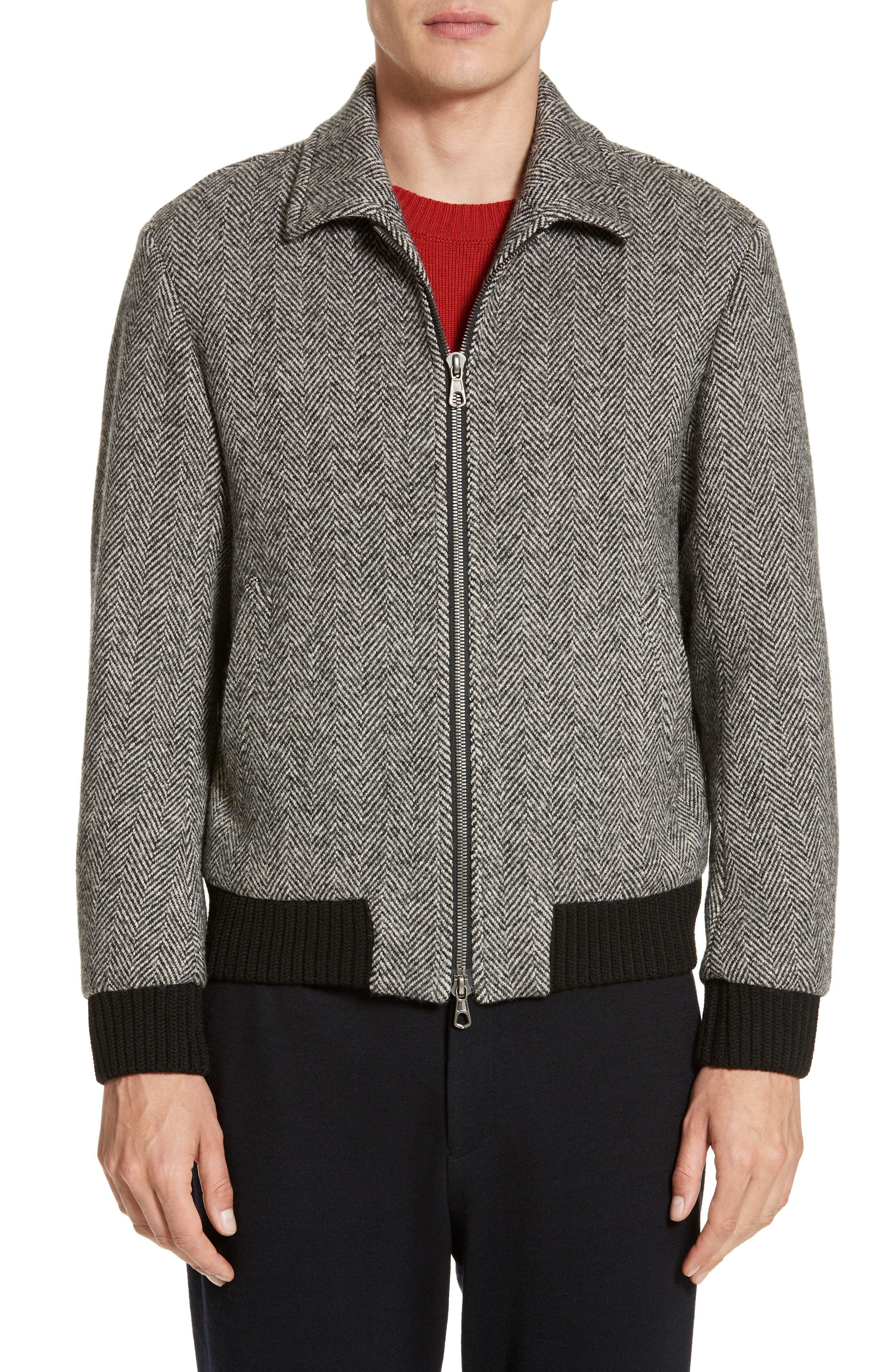 Tomorrowland Shelta Herringbone Wool Jacket