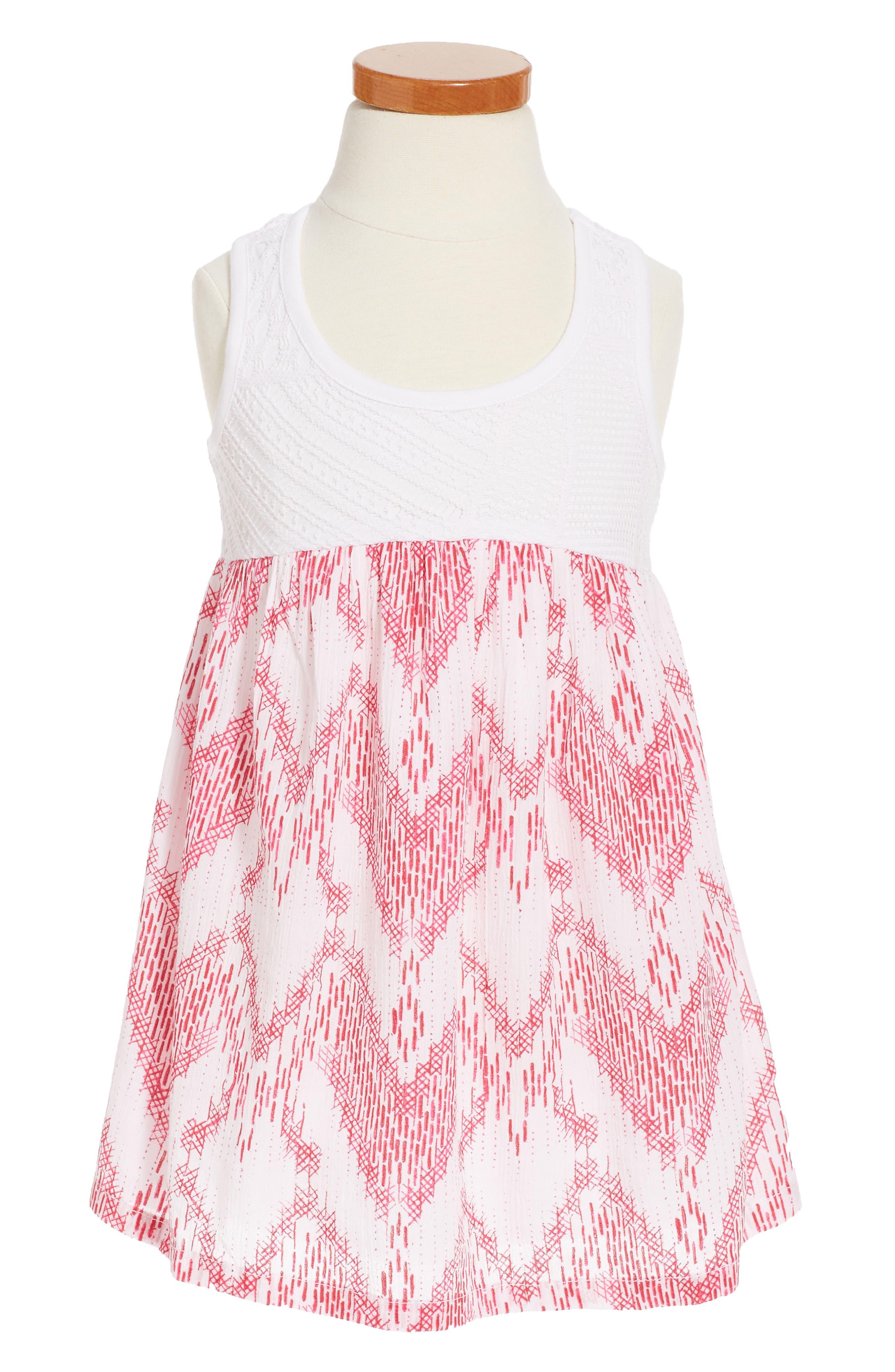 Tucker + Tate Empire Waist Dress (Toddler Girls, Little Girls & Big Girls)