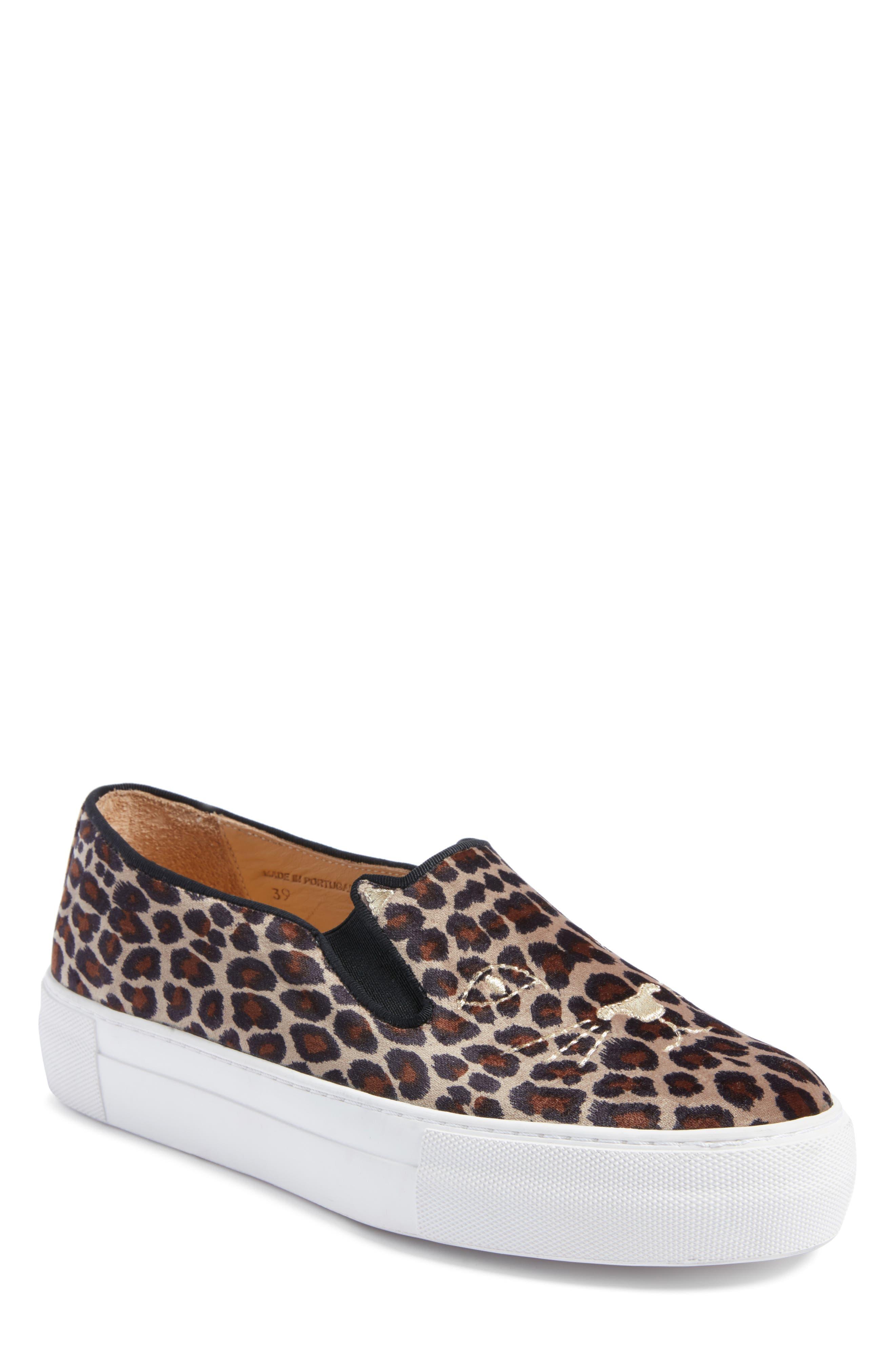 Charlotte Olympia Cool Cats Slip-On Sneaker (Women)