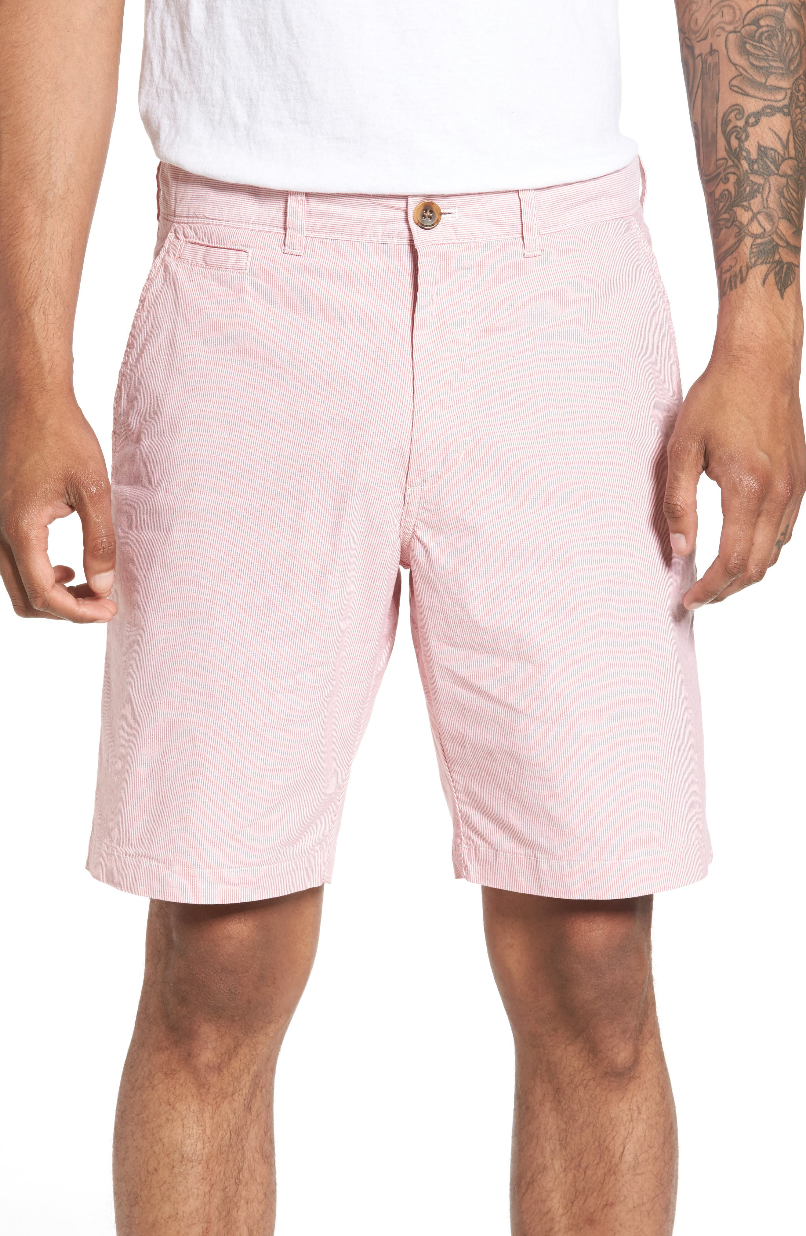 Nordstrom Men's Shop Seersucker Shorts