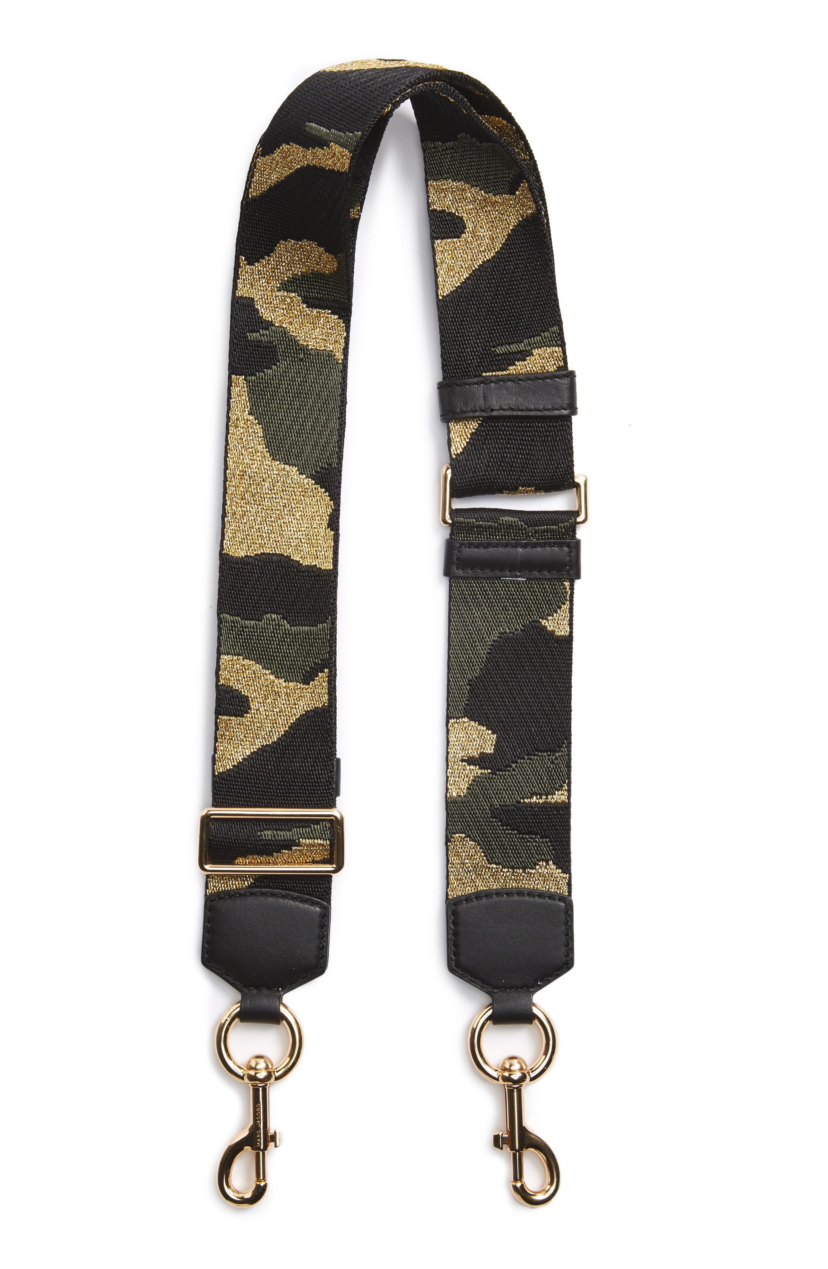 MARC JACOBS Camo Guitar Strap