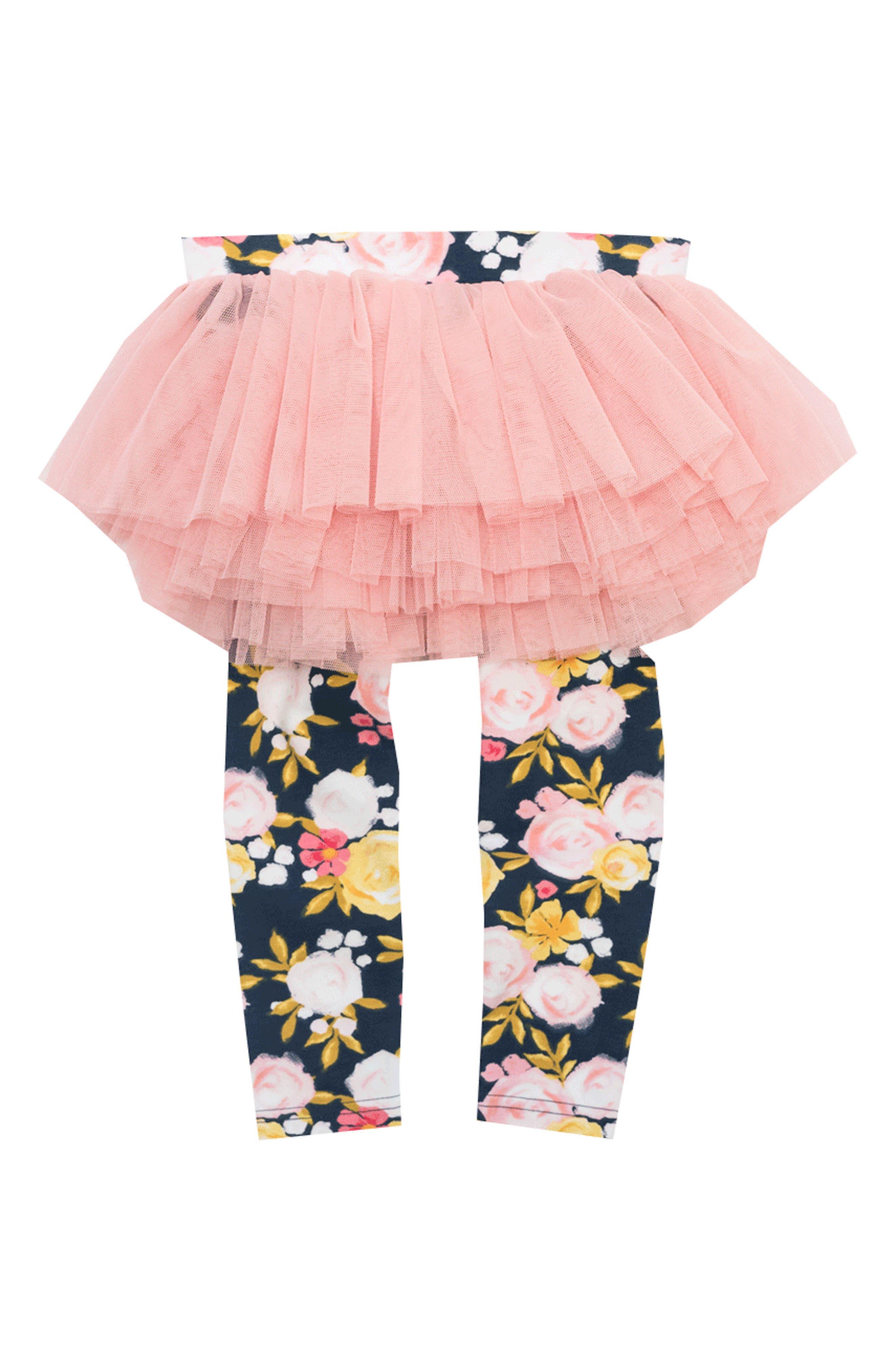 Rock Your Baby Painted Garden Leggings (Baby Girls)