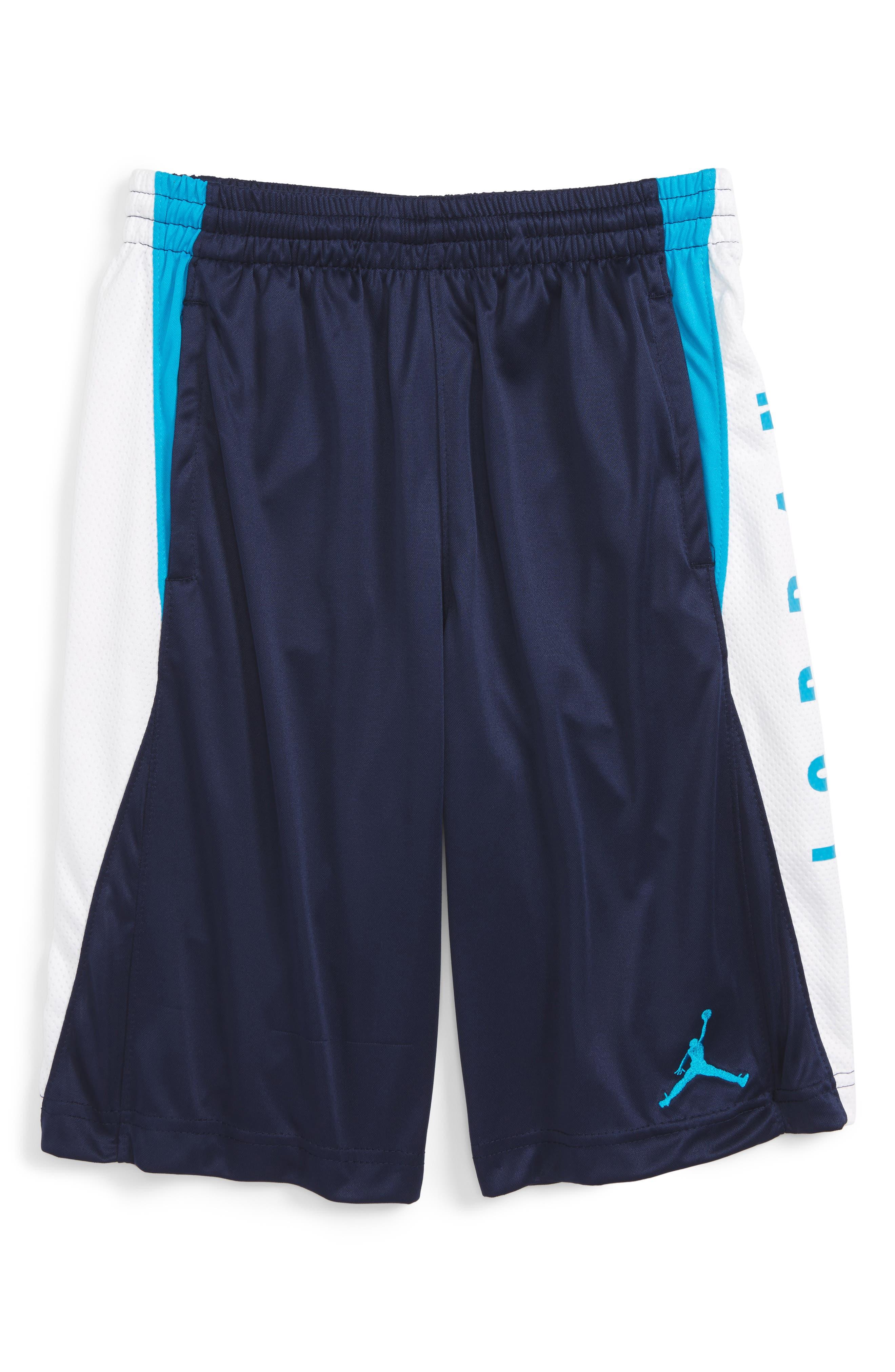 Jordan Basketball Shorts (Big Boys)