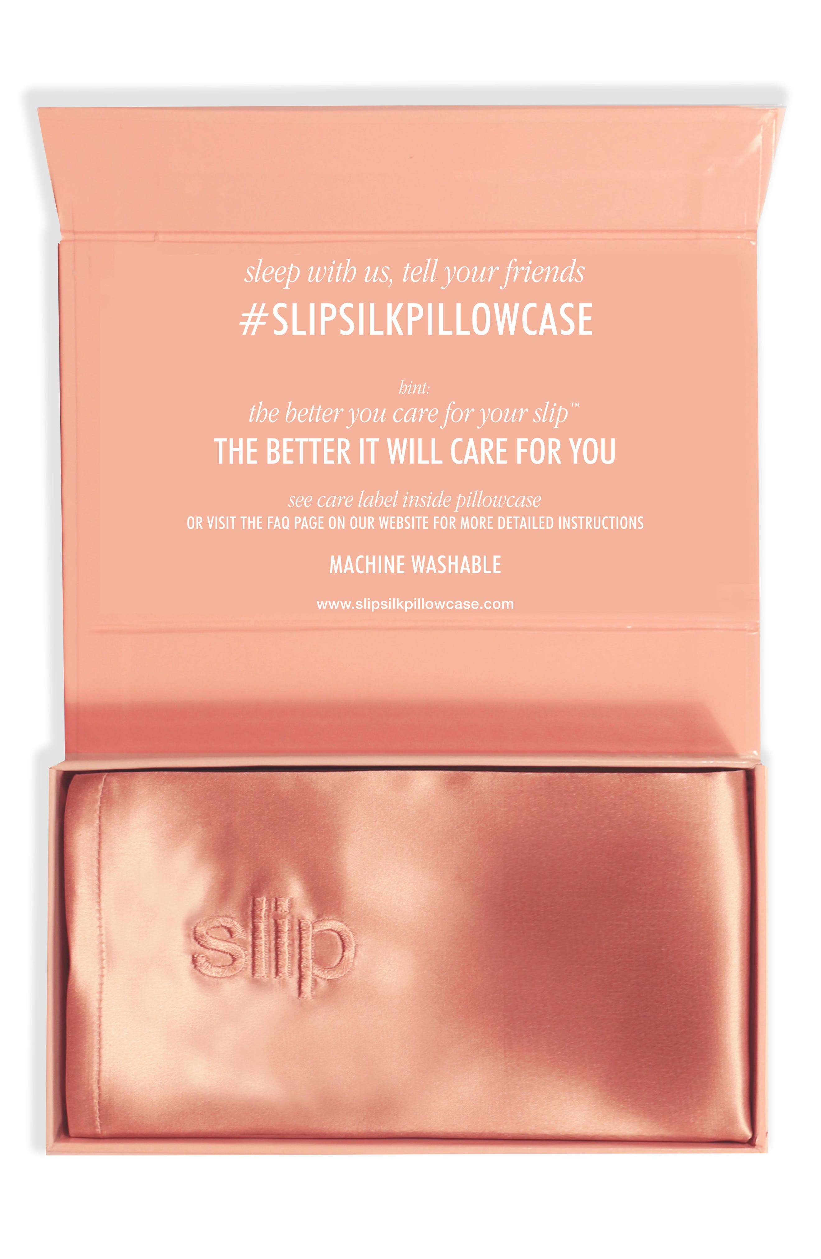 slip™ for beauty sleep 'Slipsilk™' Pure Silk Pillowcase
