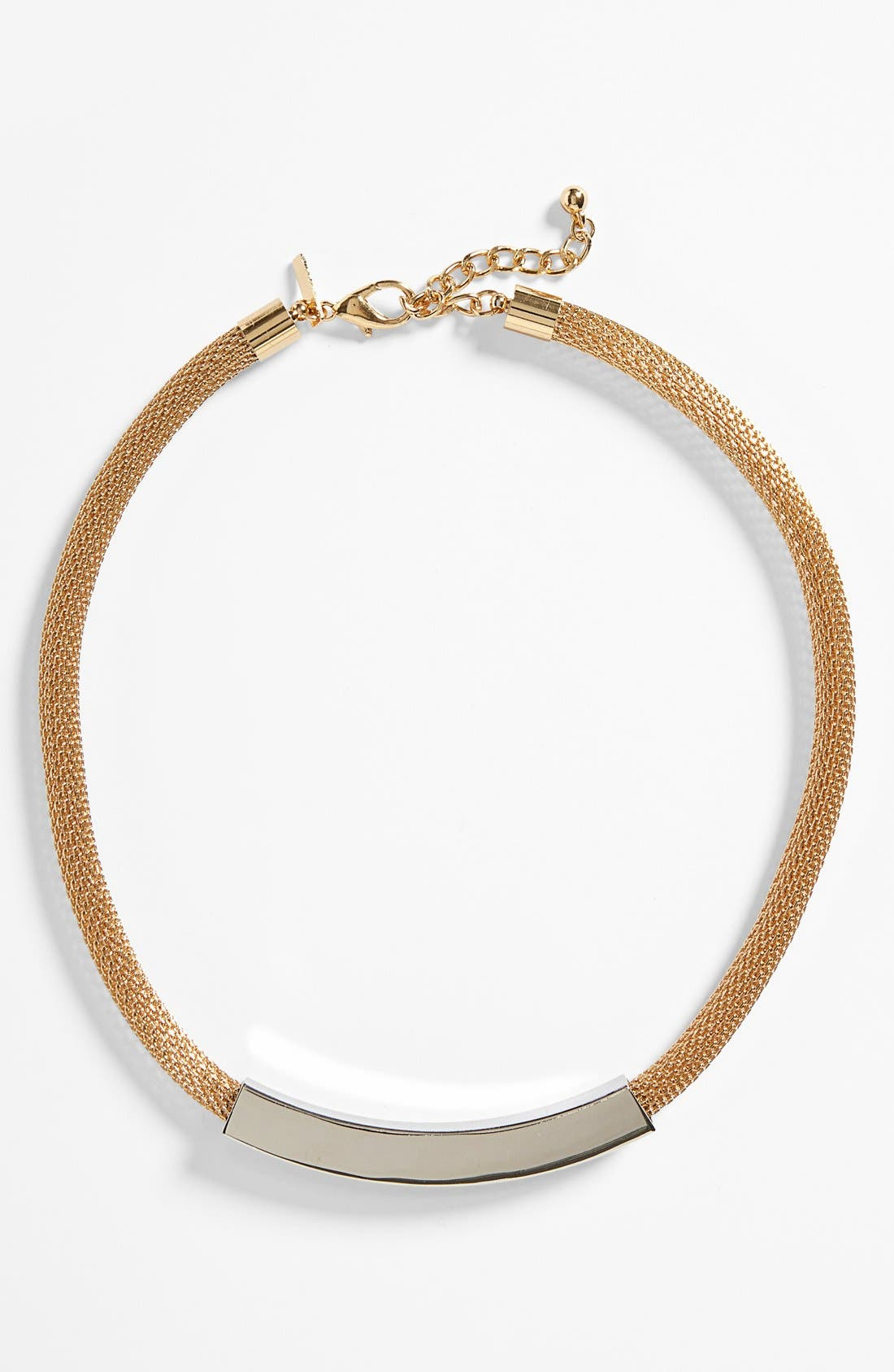 Alternate Image 1 Selected - Topshop Mesh Chain Tube Choker