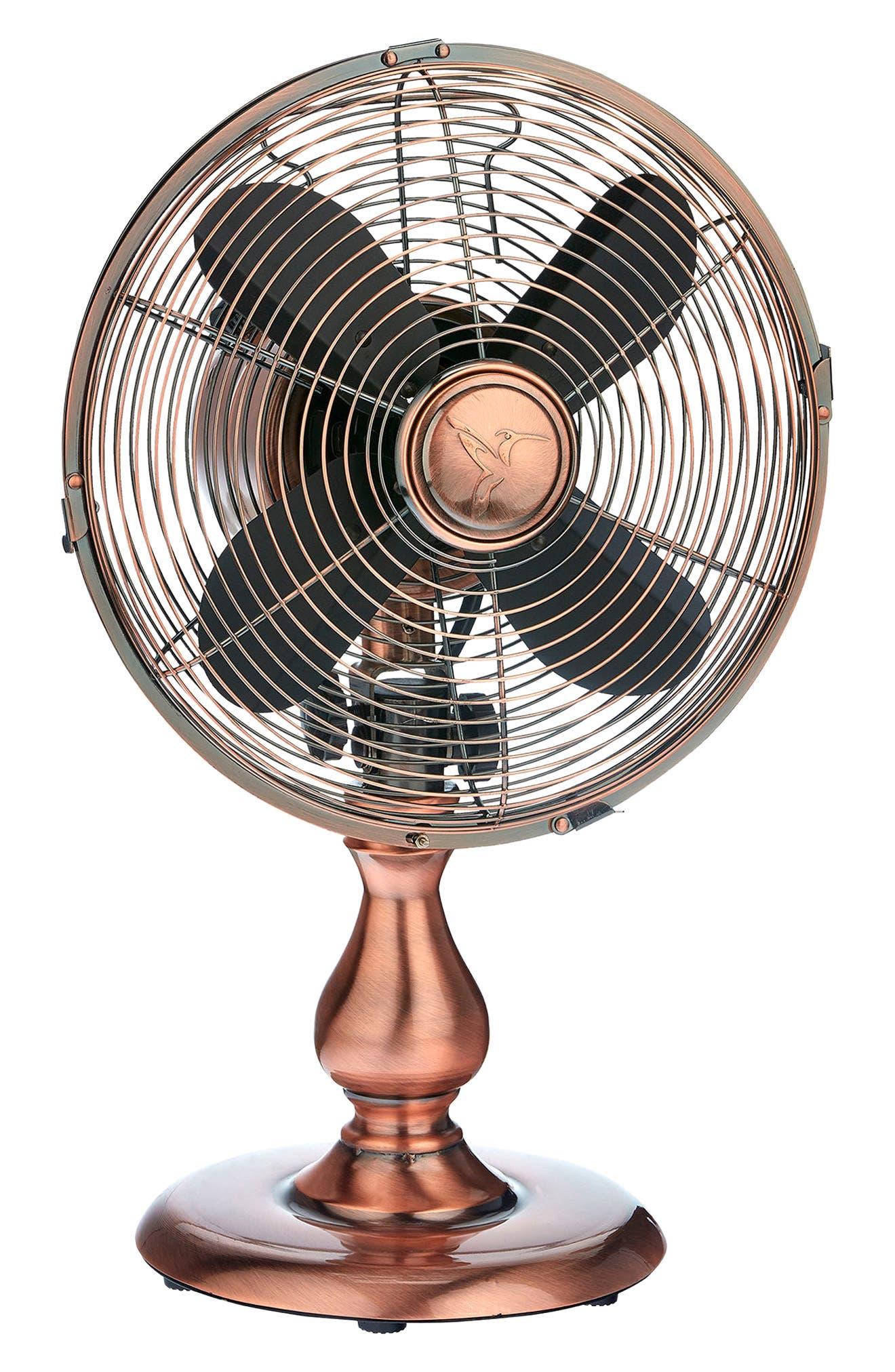 DecoBREEZE Copper Table Fan