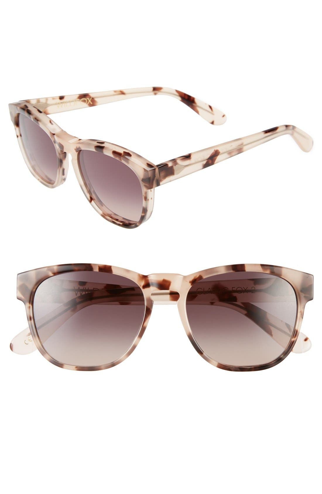 Main Image - Wildfox 'Classic Fox 2' 52mm Sunglasses