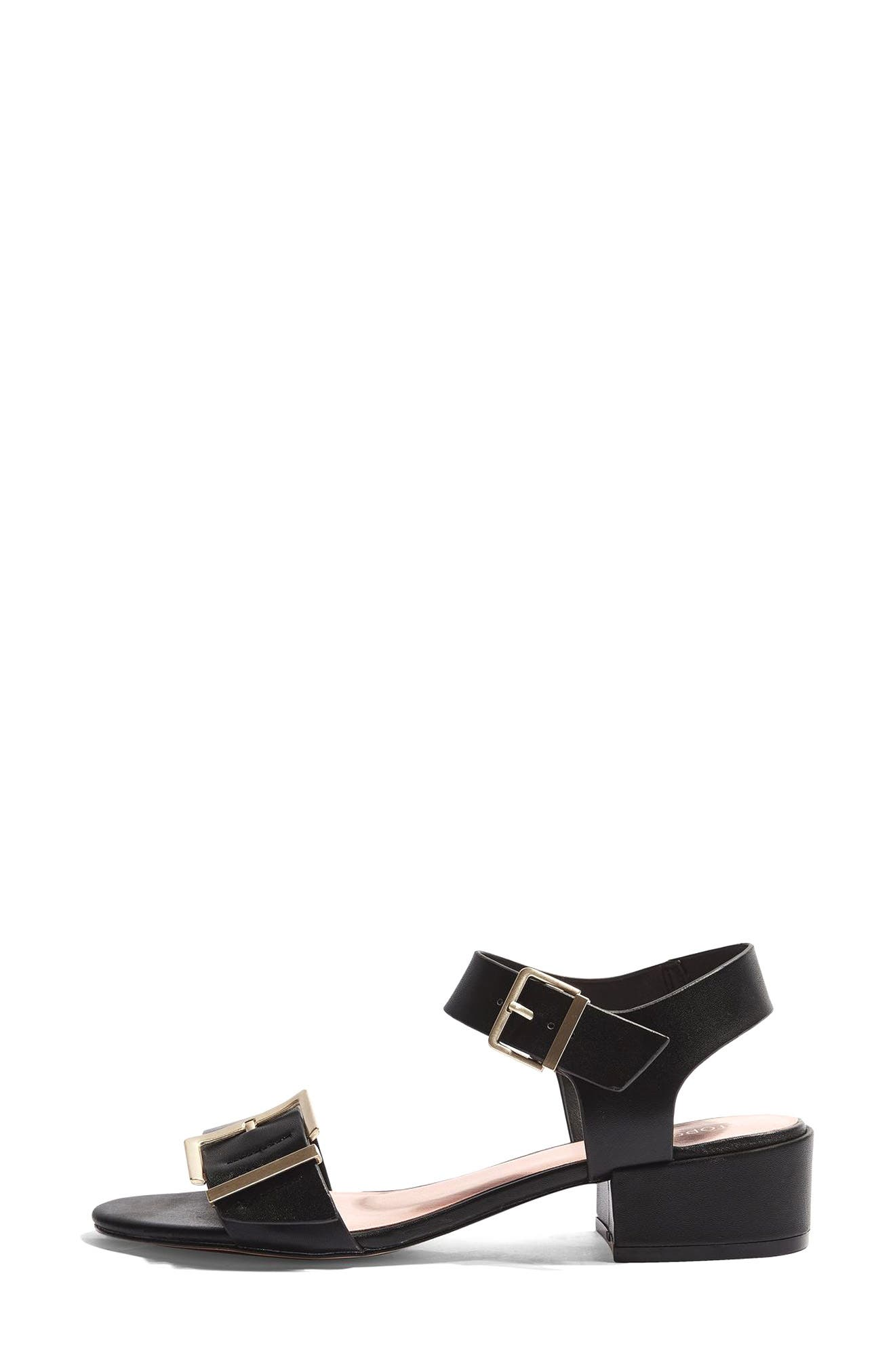 Topshop Dare Mid Heel Sandal (Women)