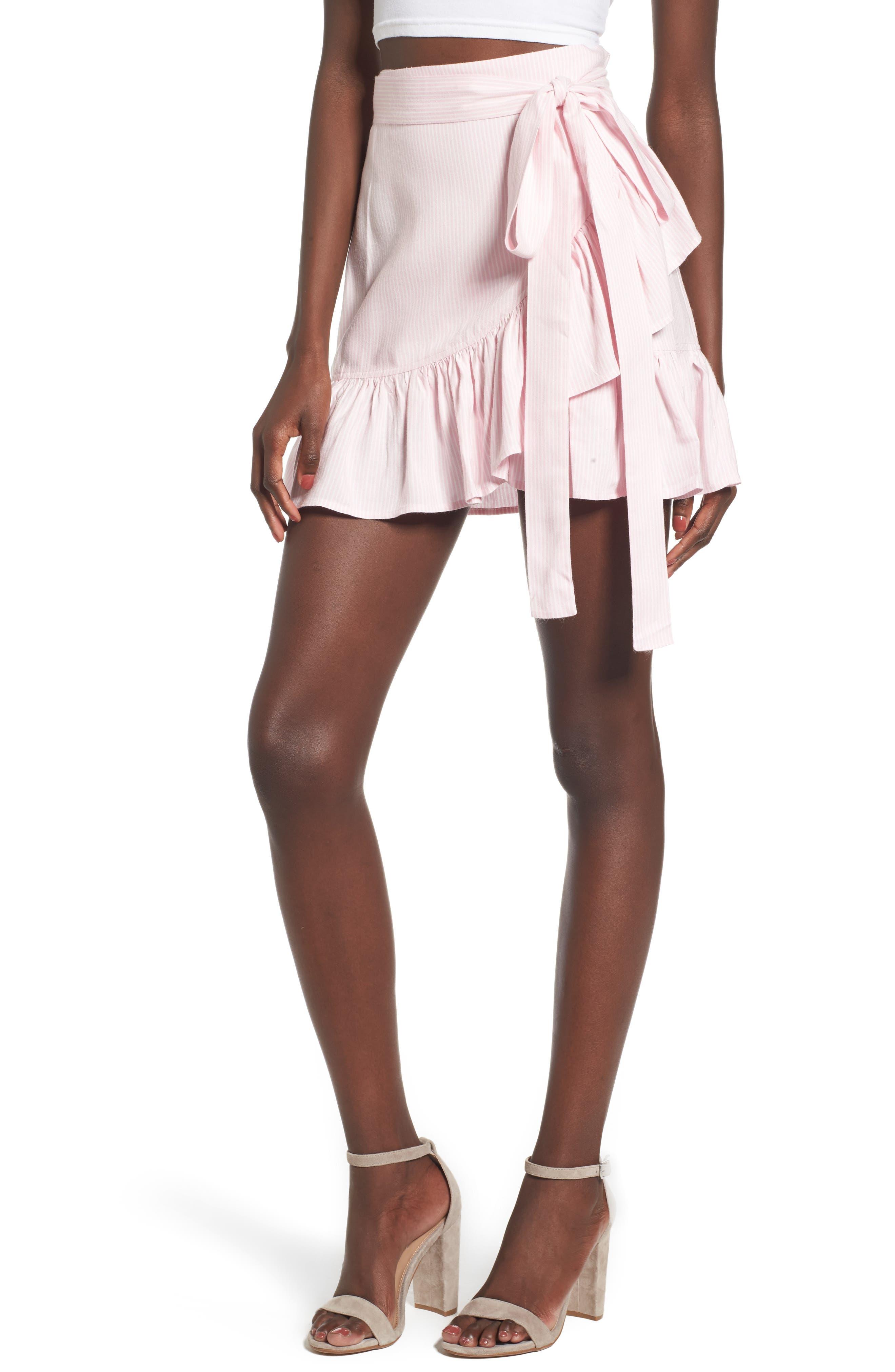 ARRIVE Vienna Ruffle Wrap Skirt