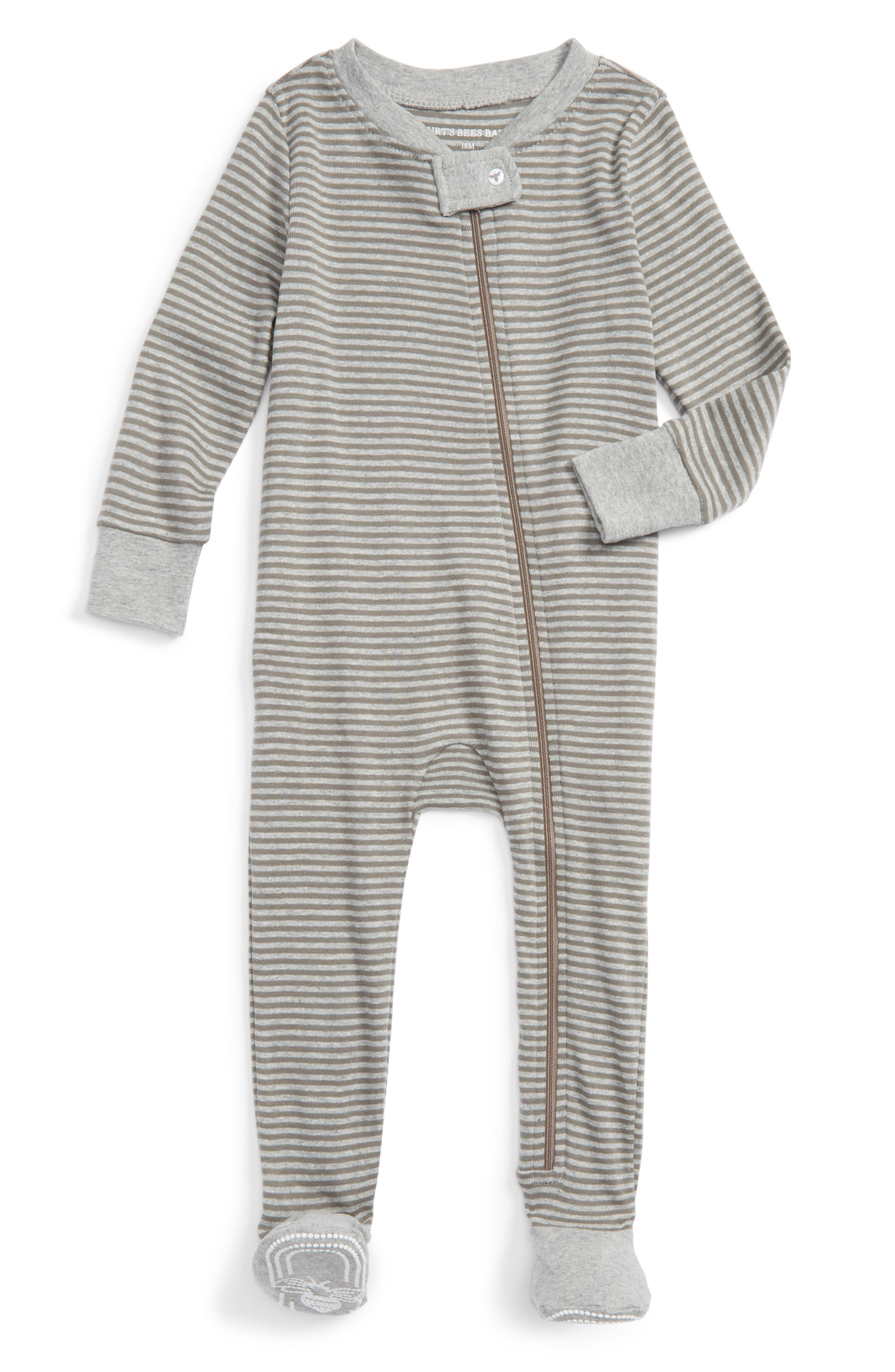 Burt's Bees Baby Organic Cotton One-Piece Pajamas (Baby)