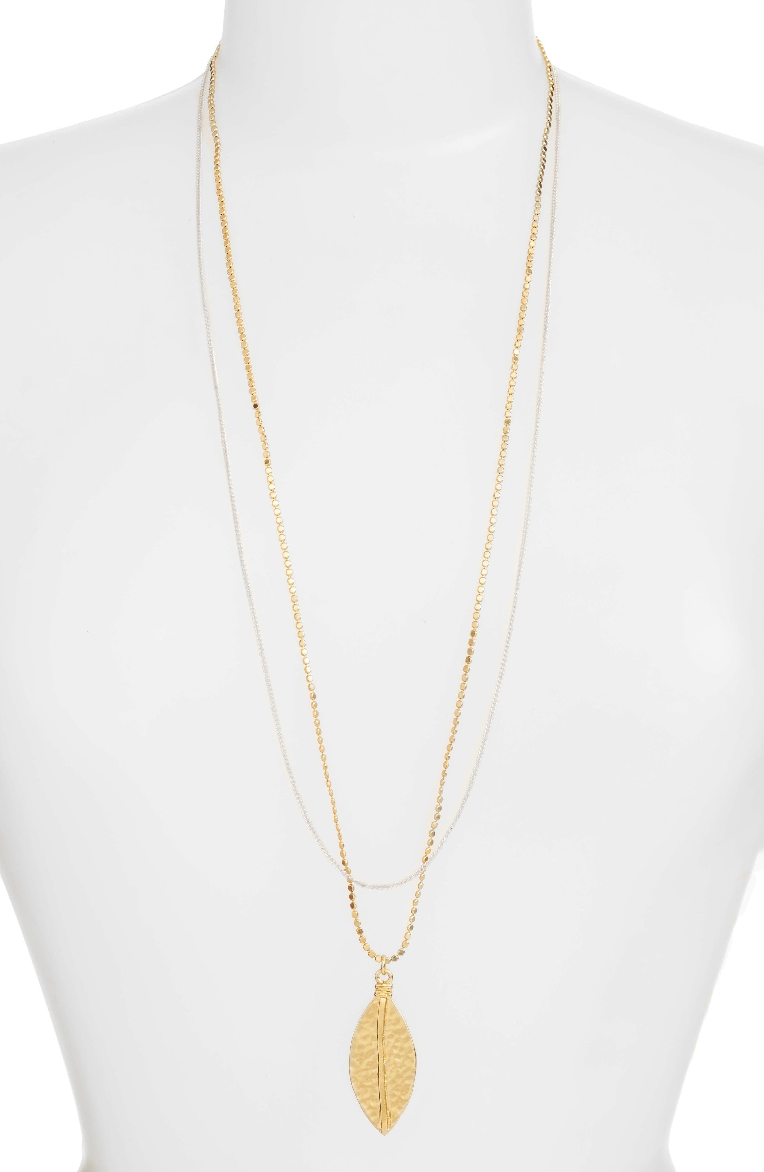 Karine Sultan Long Multistrand Necklace