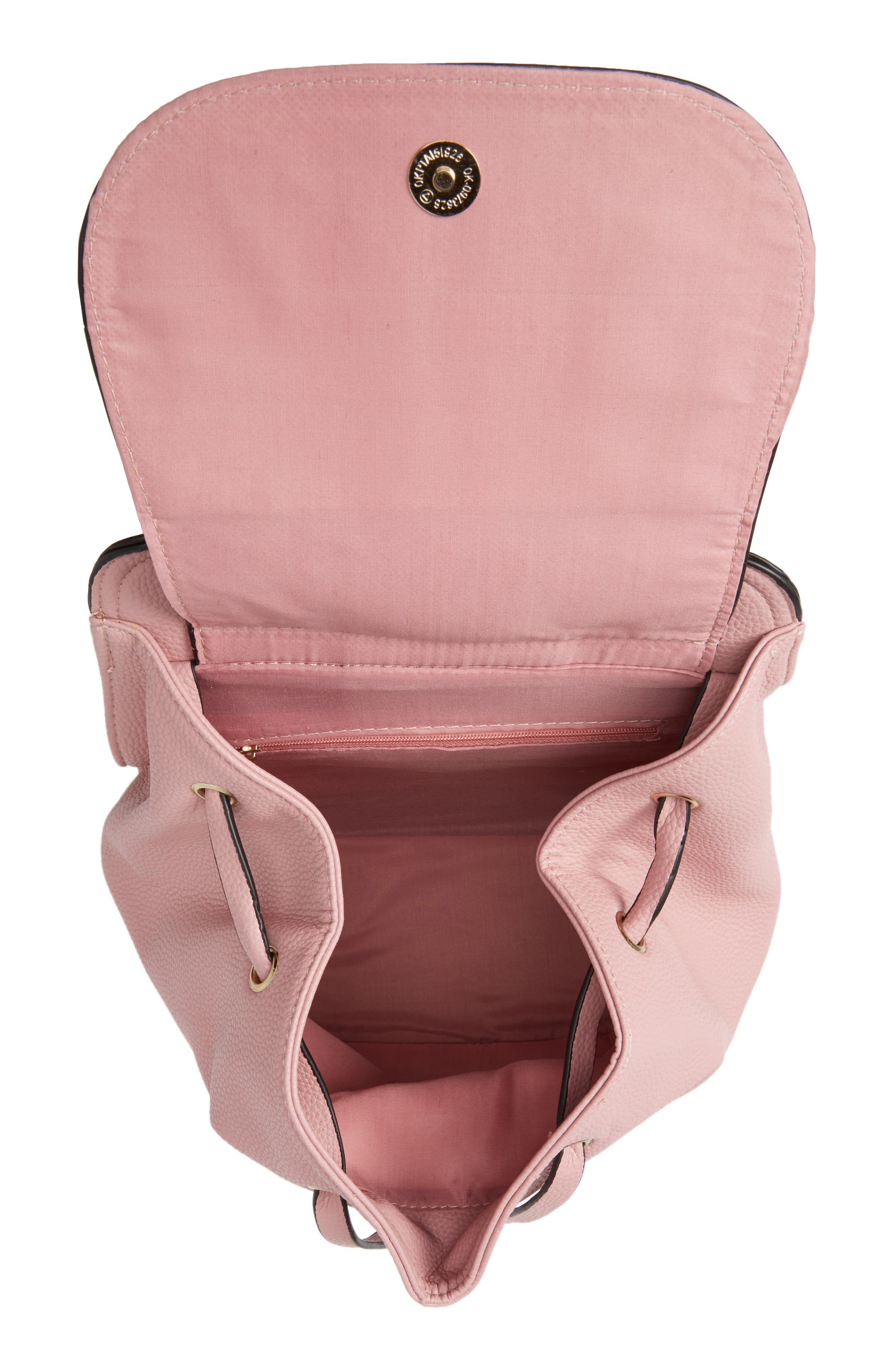 Alternate Image 4  - Amici Accessories Ring Handle Backpack