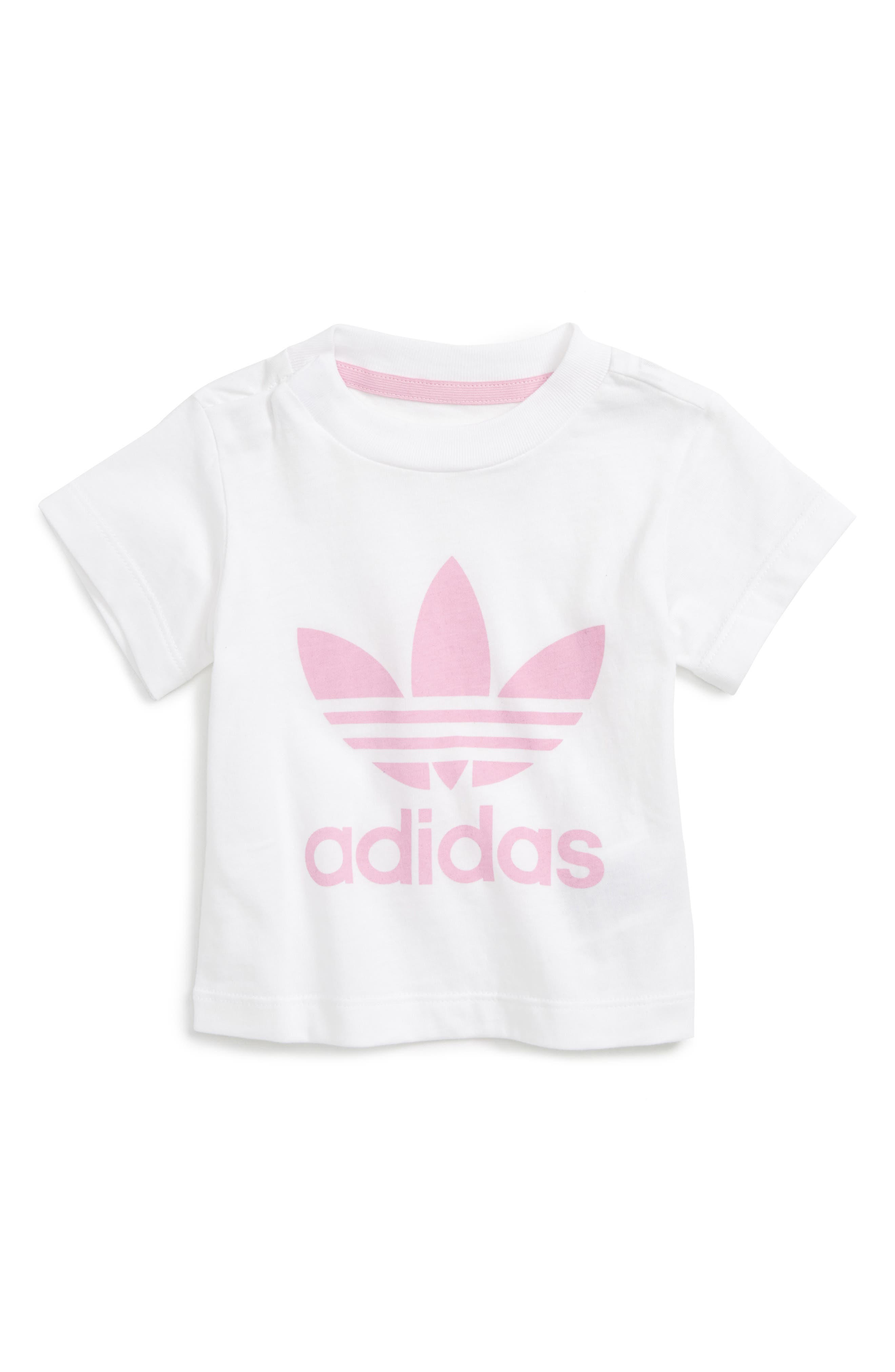 adidas Originals Trefoil Graphic Tee (Baby Girls)