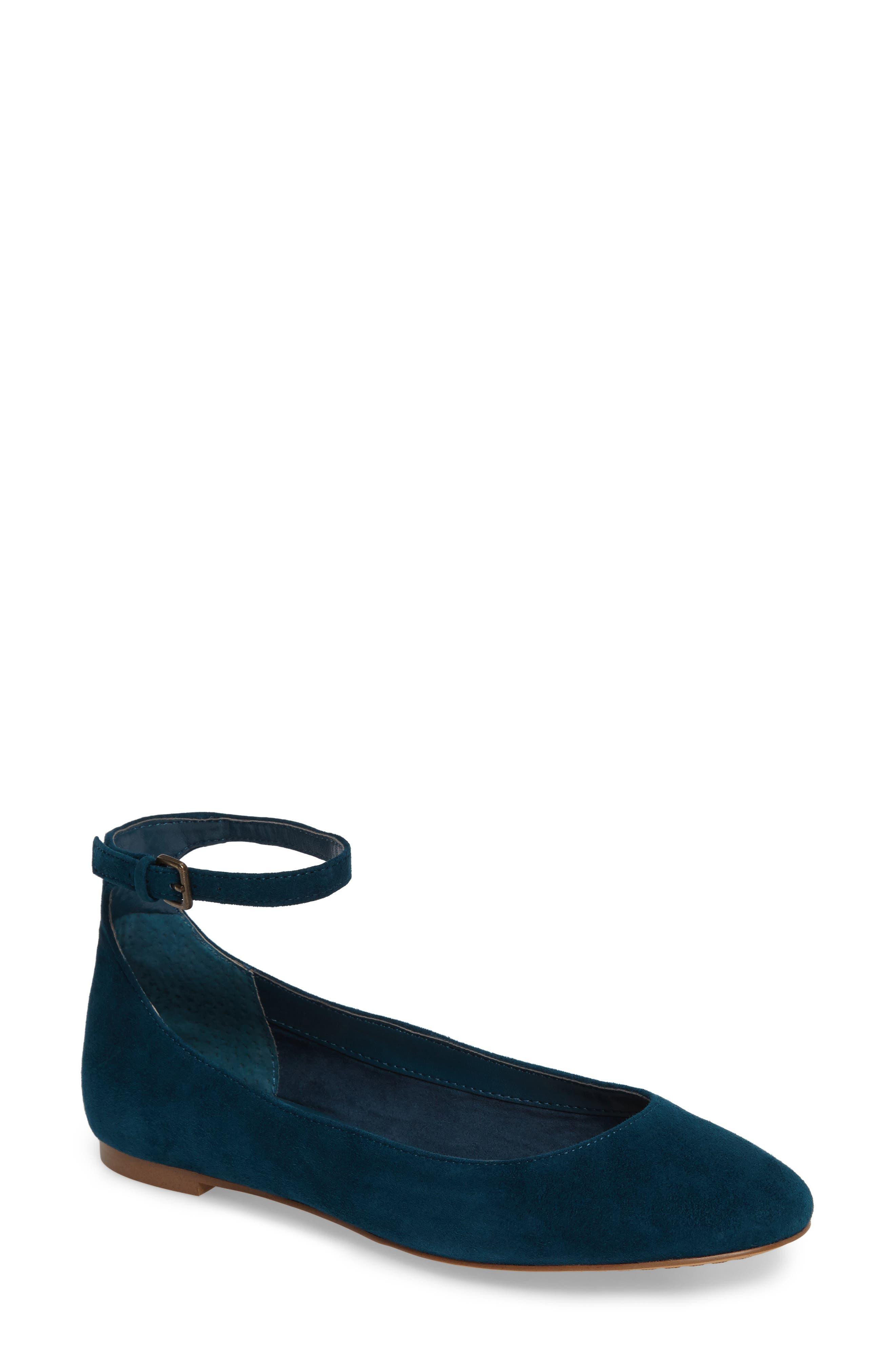 Alternate Image 1 Selected - Treasure & Bond Jules Ankle Strap Ballet Flat (Women)
