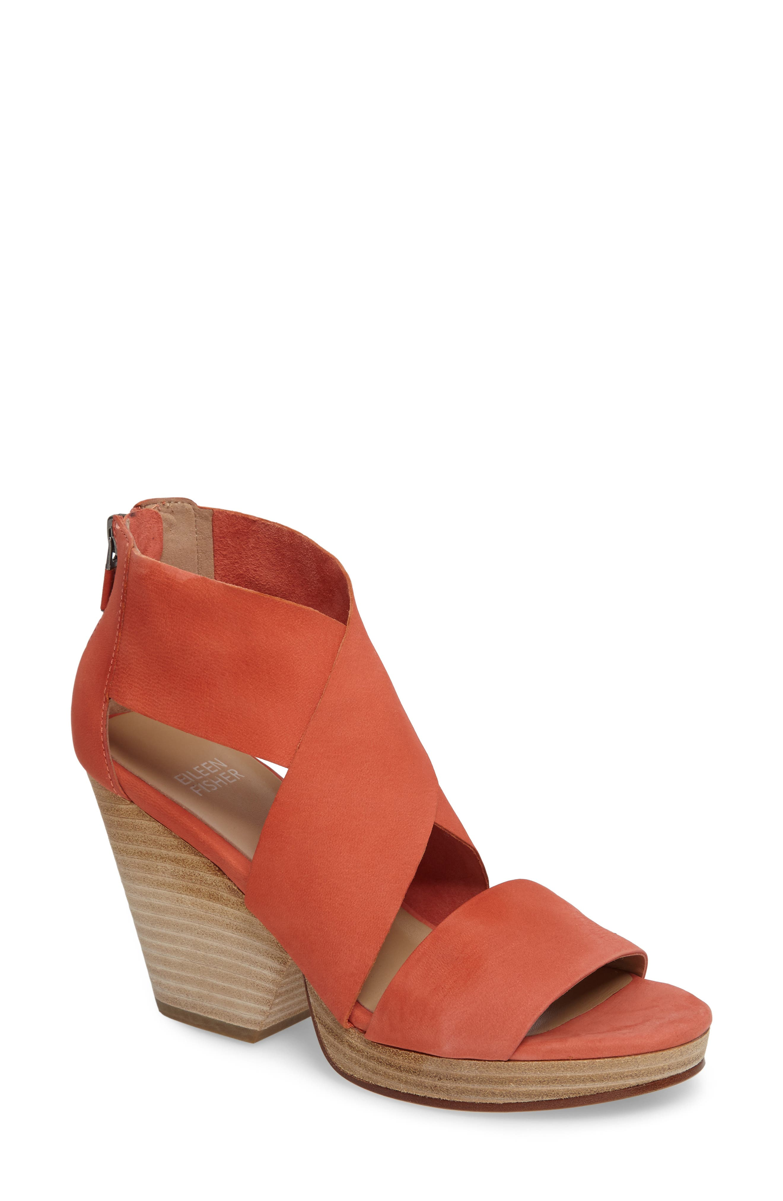 Eileen Fisher Ellis Sandal (Women)