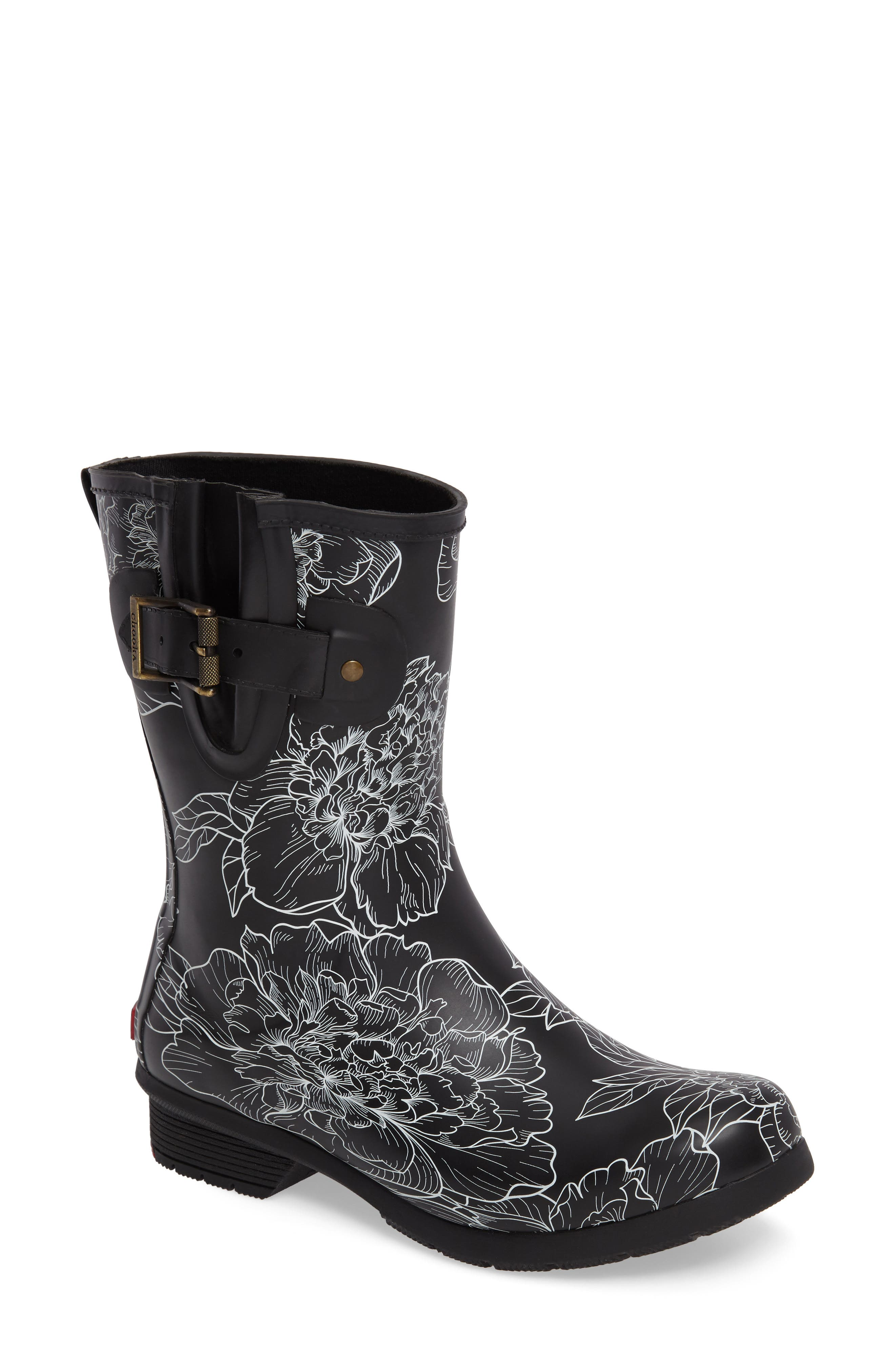 Chooka Cora Mid Rain Boot (Women)